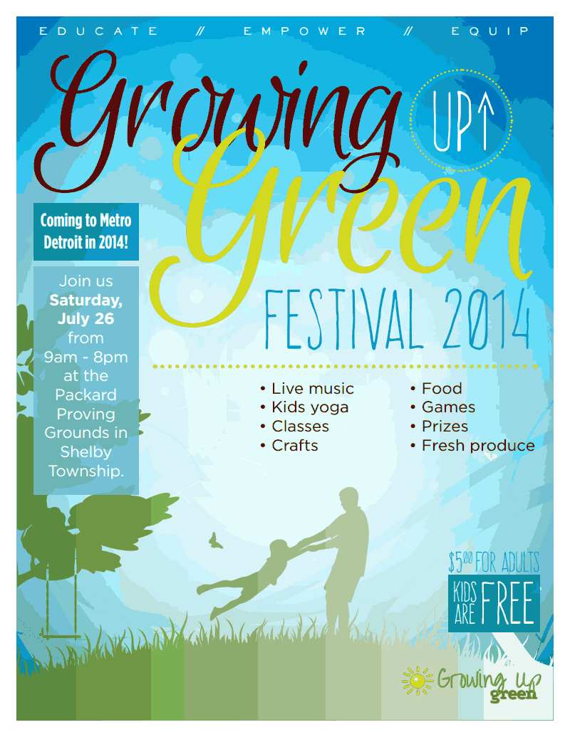 Troy Naturopathic at Growing up Green Festival