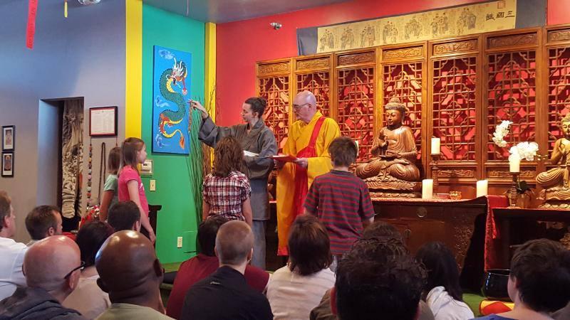 Children's precept ceremony
