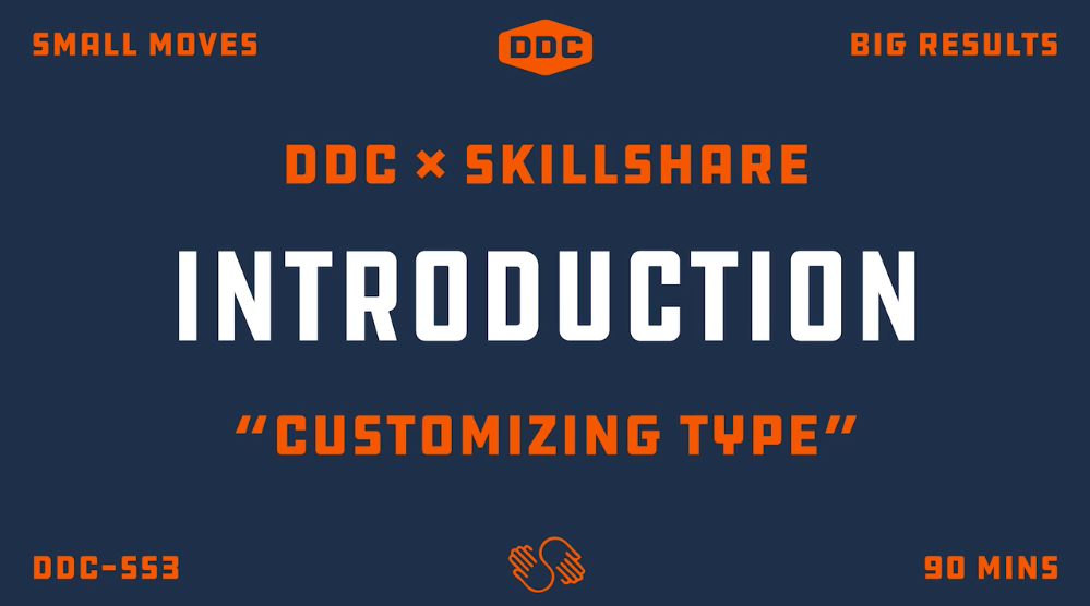 Customizing Type with Draplin: Creating Wordmarks That Work