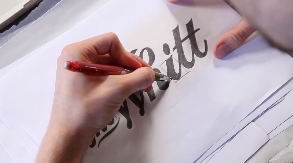 Drawing Custom Lettering: Concept to Final Vector and Beyond