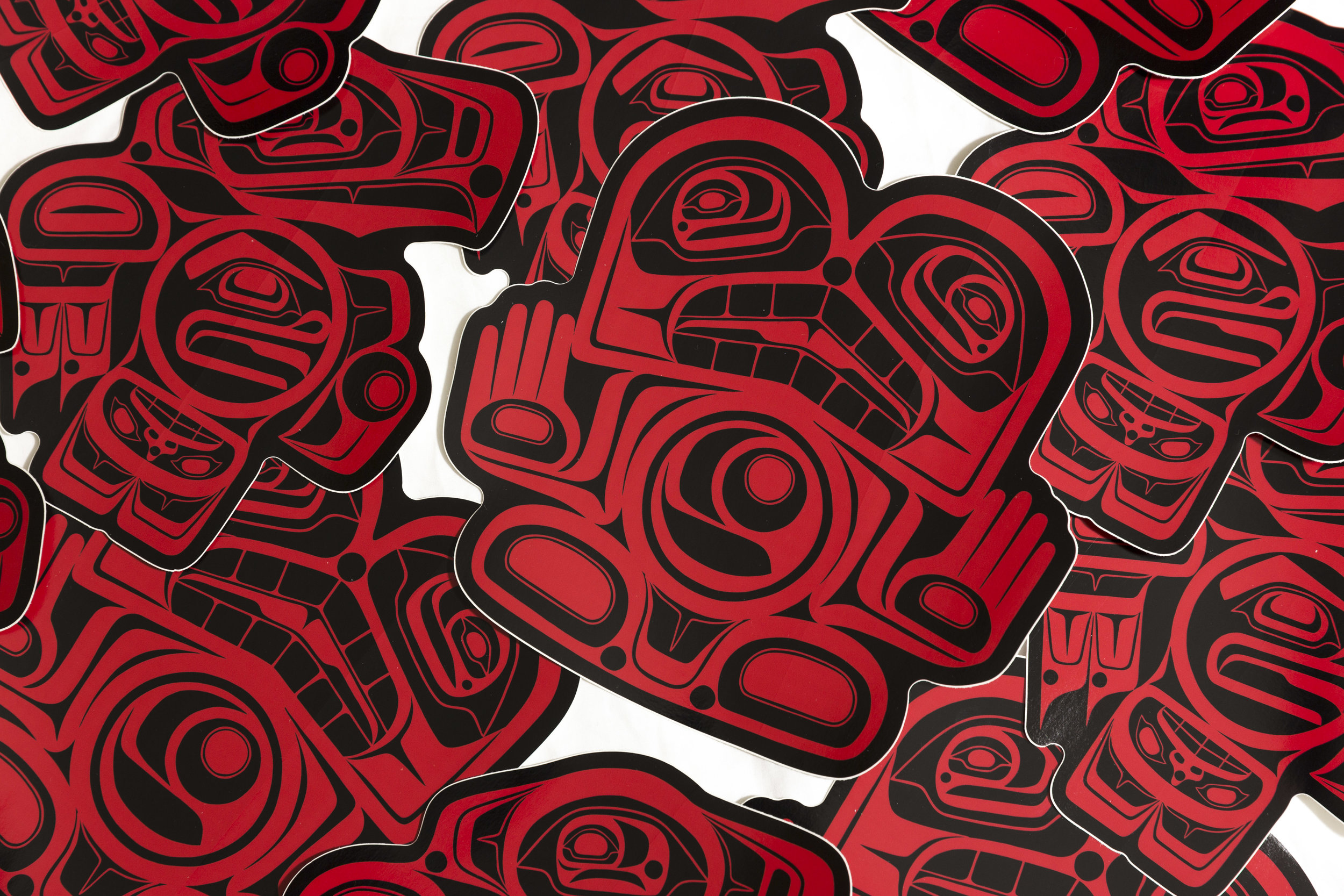N-Grained Inc. Eagle and Lando Stickers  / photo: Ian Tetzner