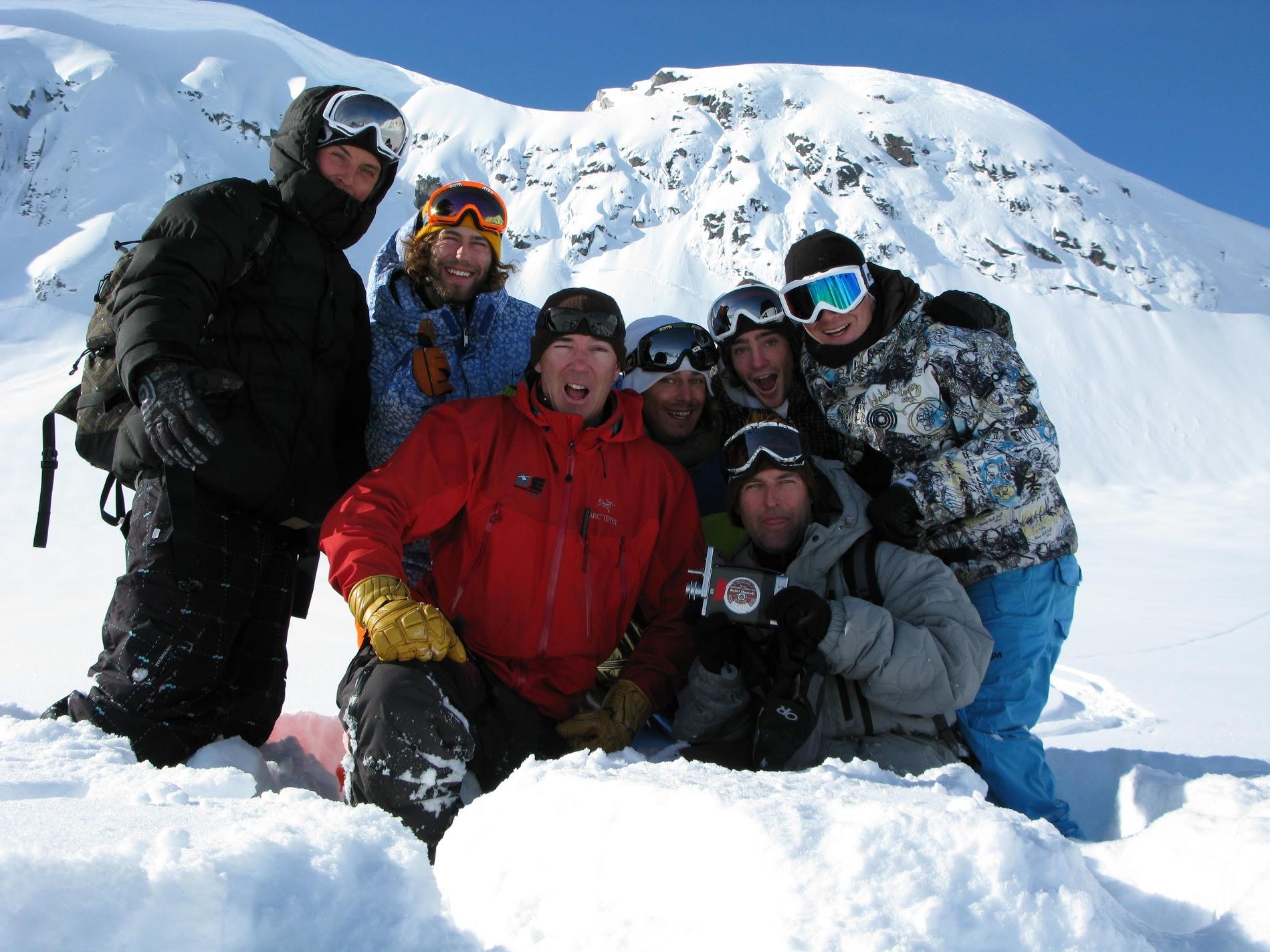 Glacier Crew /photo: Dano Pendygrasse