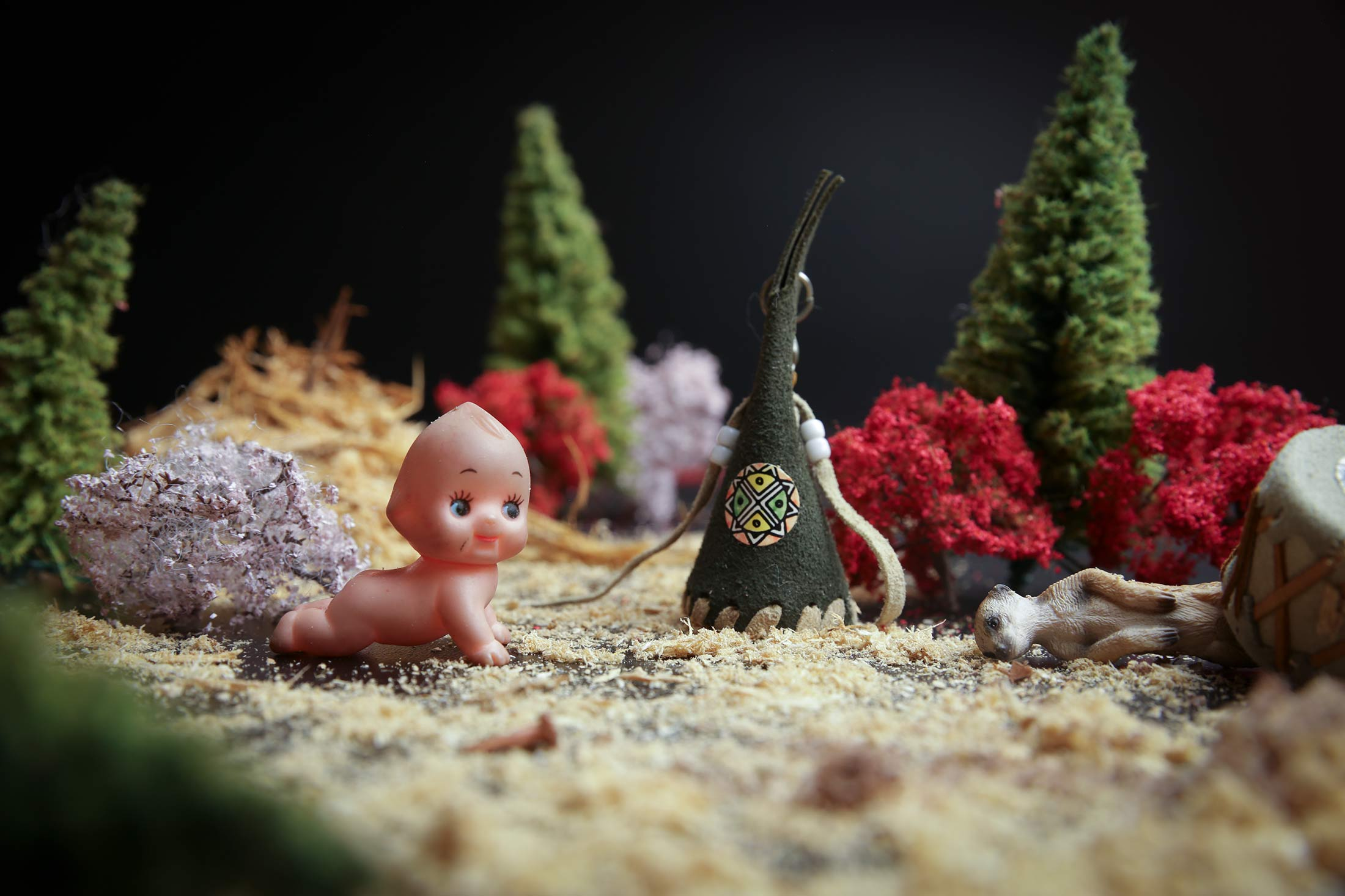 "Gary Mayo's World!  We filmed a stop motion feature film of Mayo - ""Ani-Mayo"" / photo: Ian Tetzner"