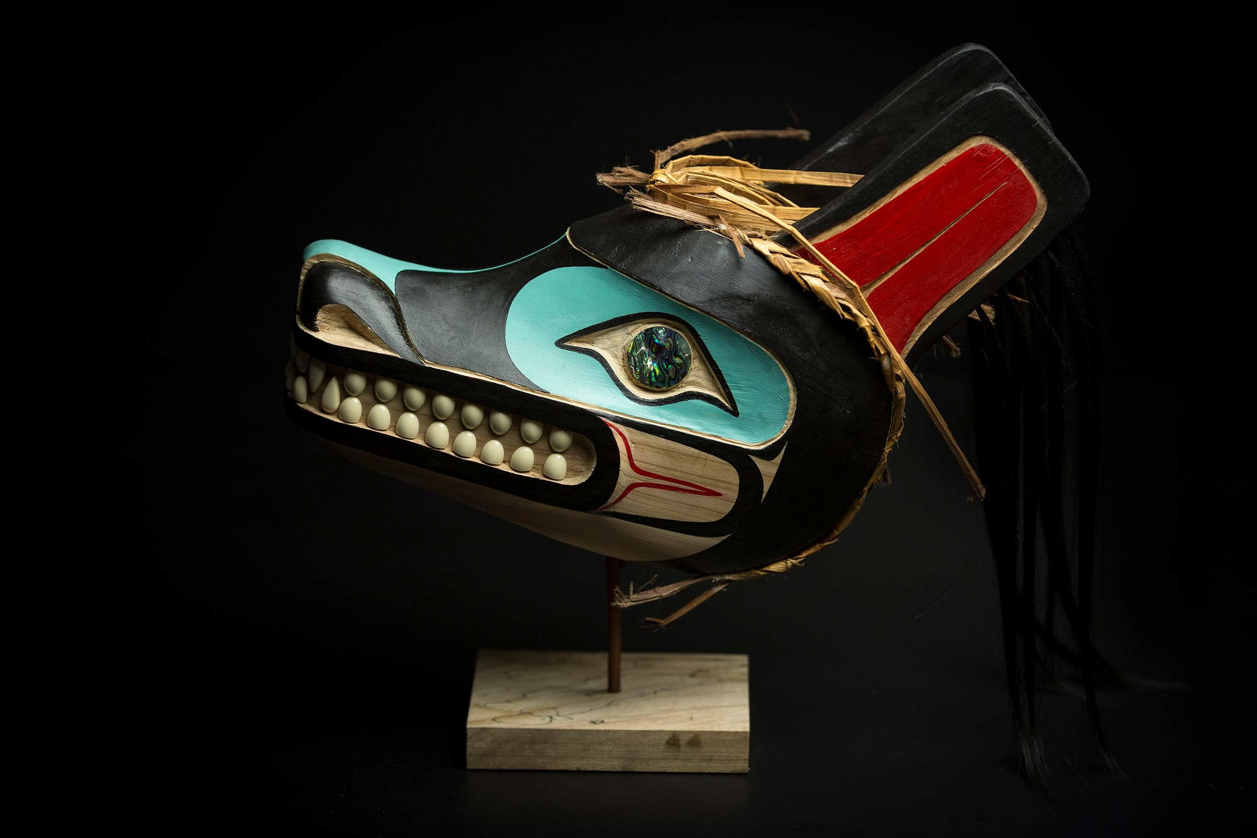 Wolf Mask by James Johnson