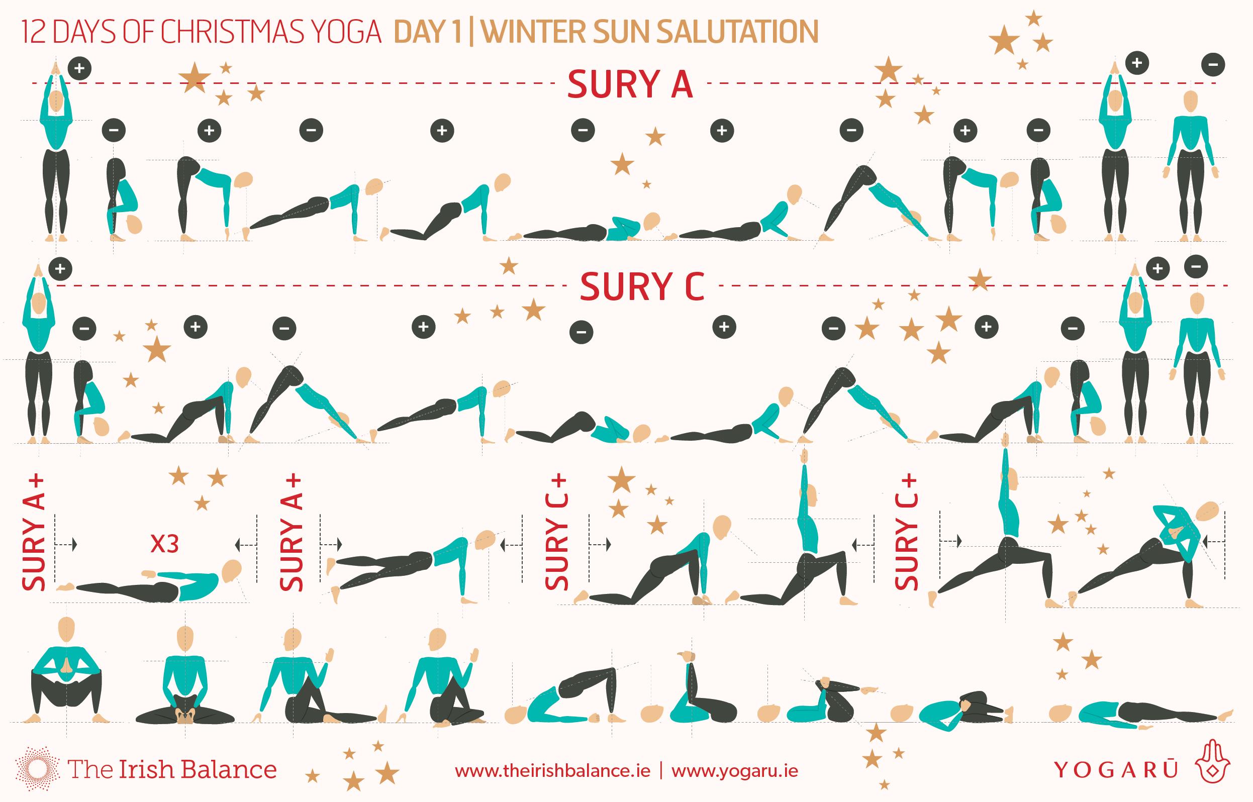 12 Christmas Sequences Yogaru