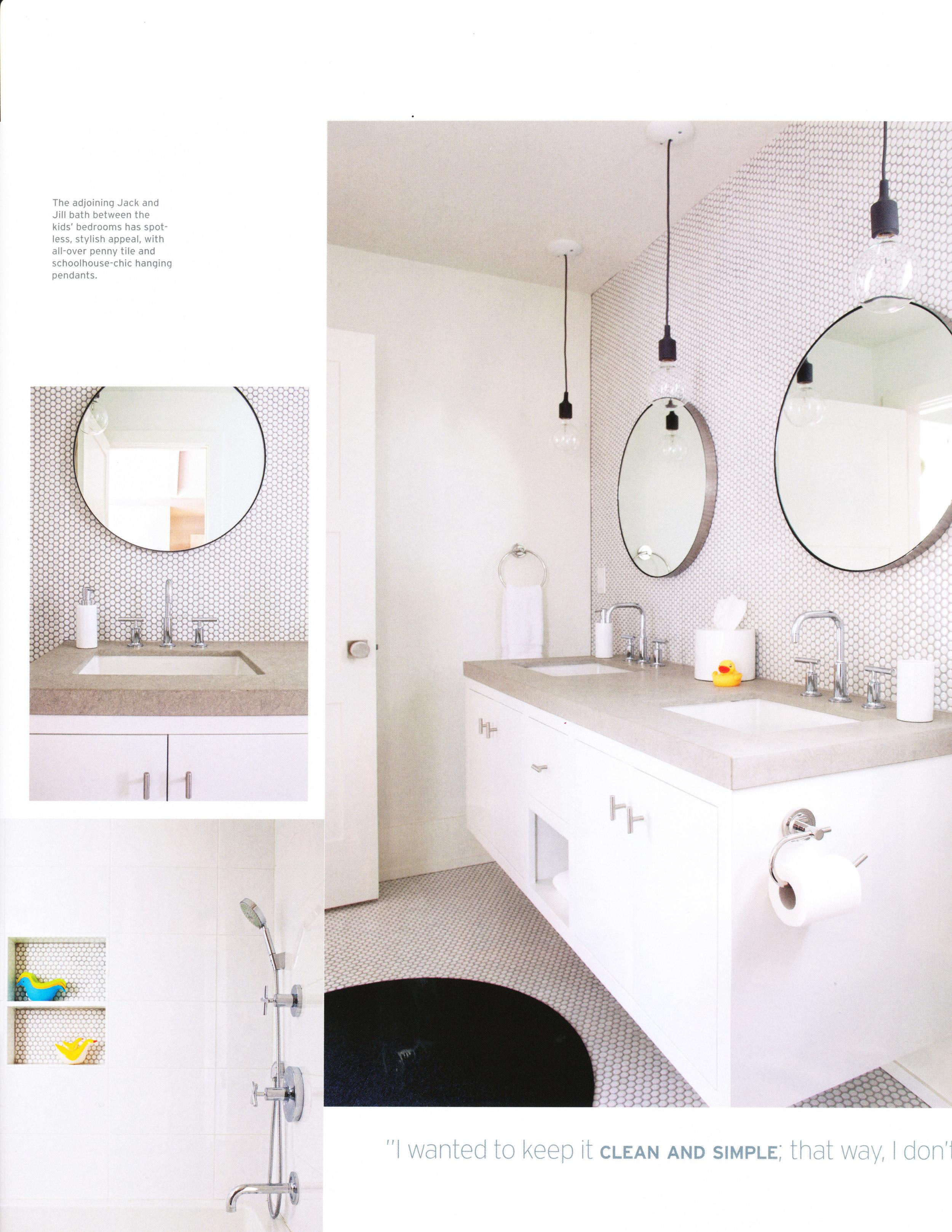 Modern Kids Bath