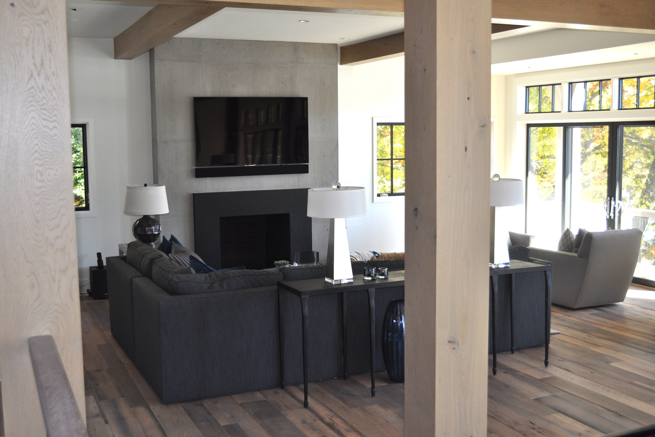 Concret Fireplace