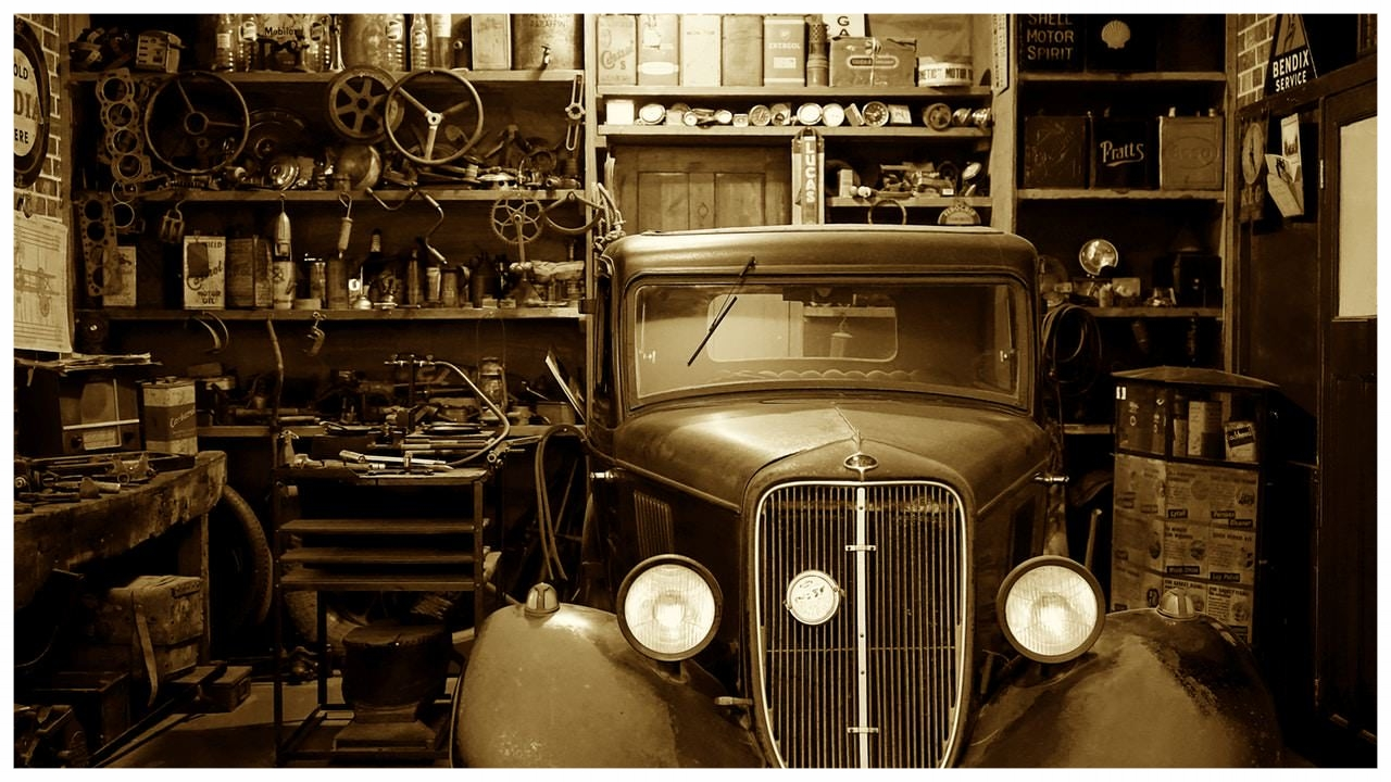 Old Car in Garage.jpg