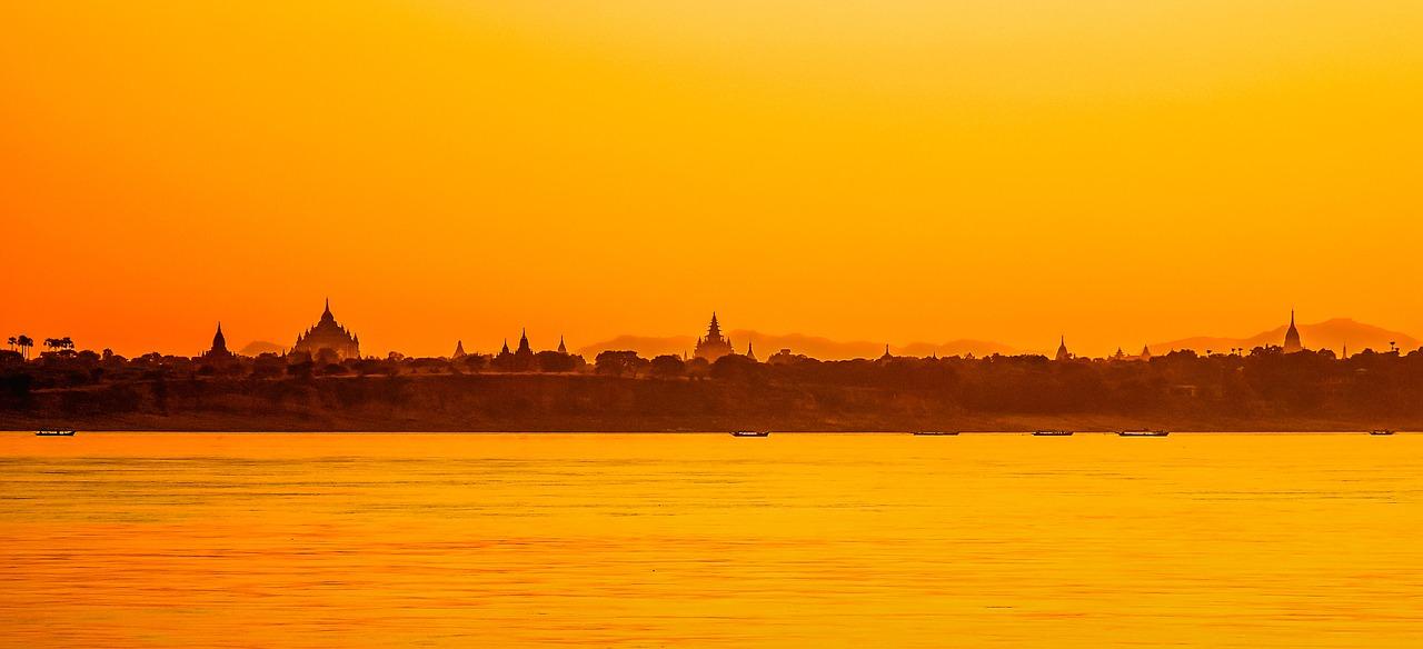 Burma ~ Sunset