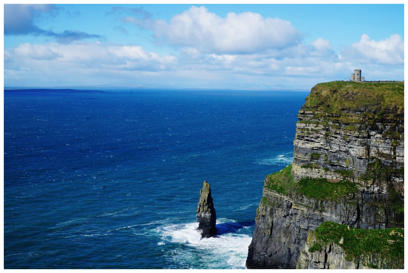 Coast of Galway Ireland