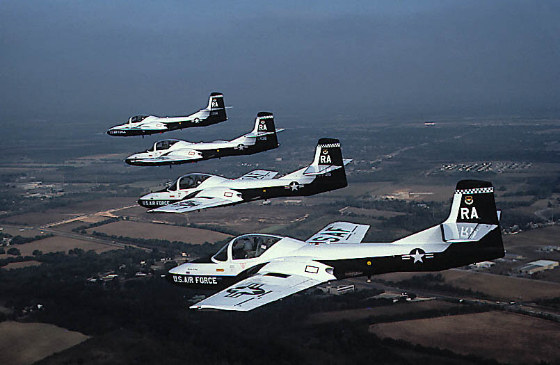 T-37 'Tweety' Flight Training