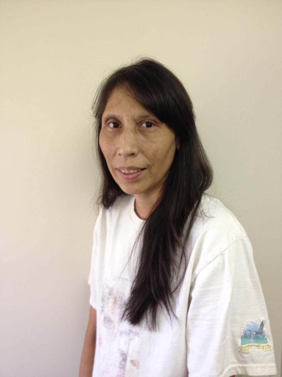 Esther cardinal -employee for the Homemaker program for elders and disabled