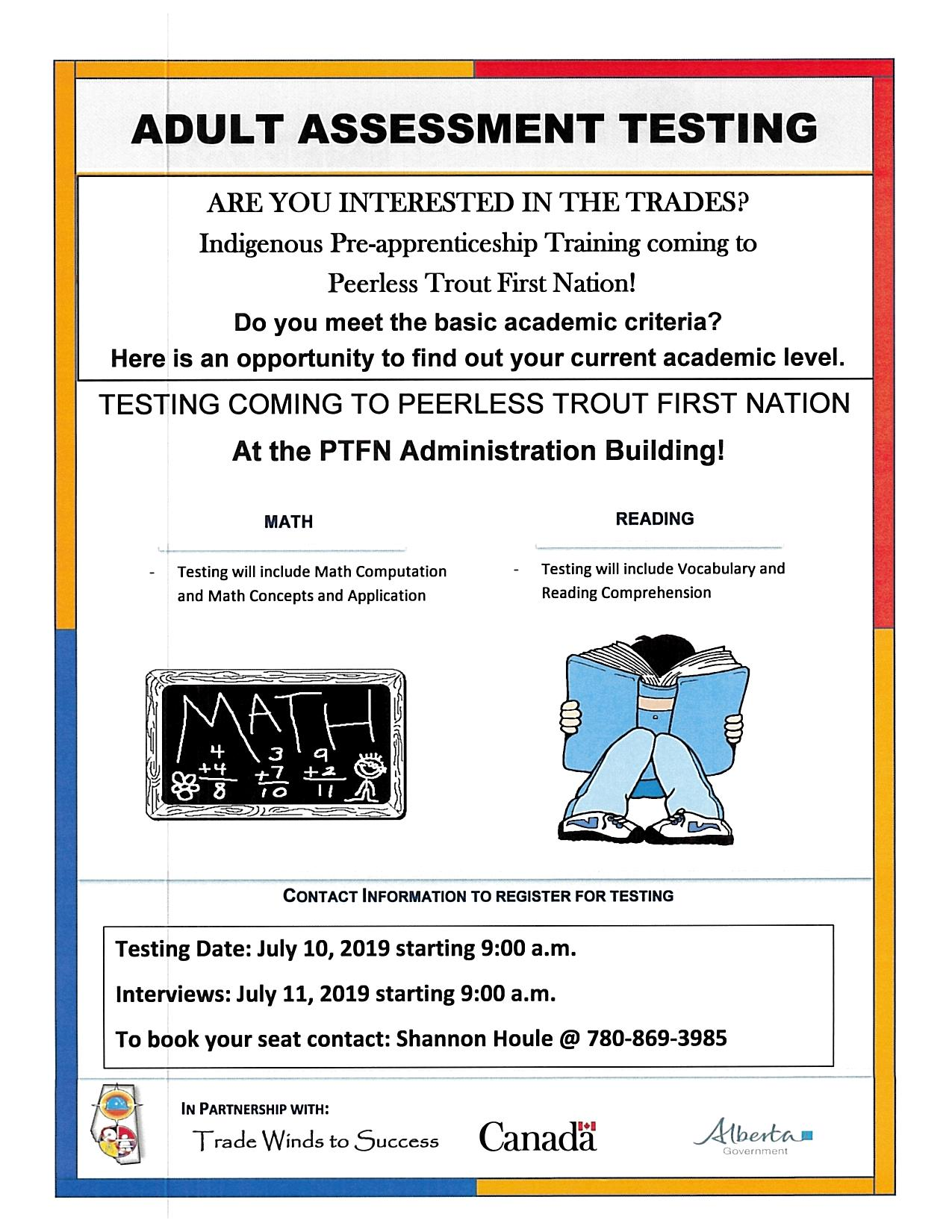 Announcements — Peerless Trout First Nation