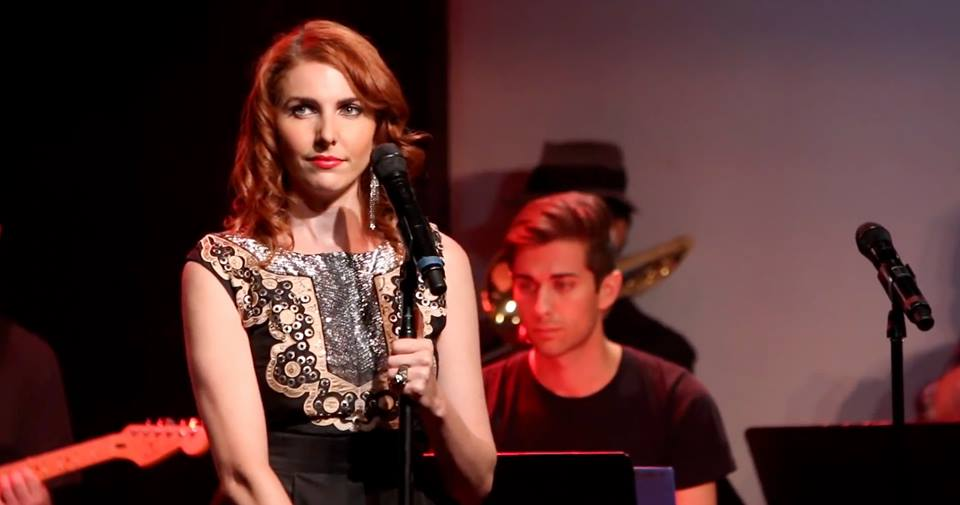 Marla Mindelle in Broadway Sings Justin Timberlake, Le Poisson Rouge, NYC