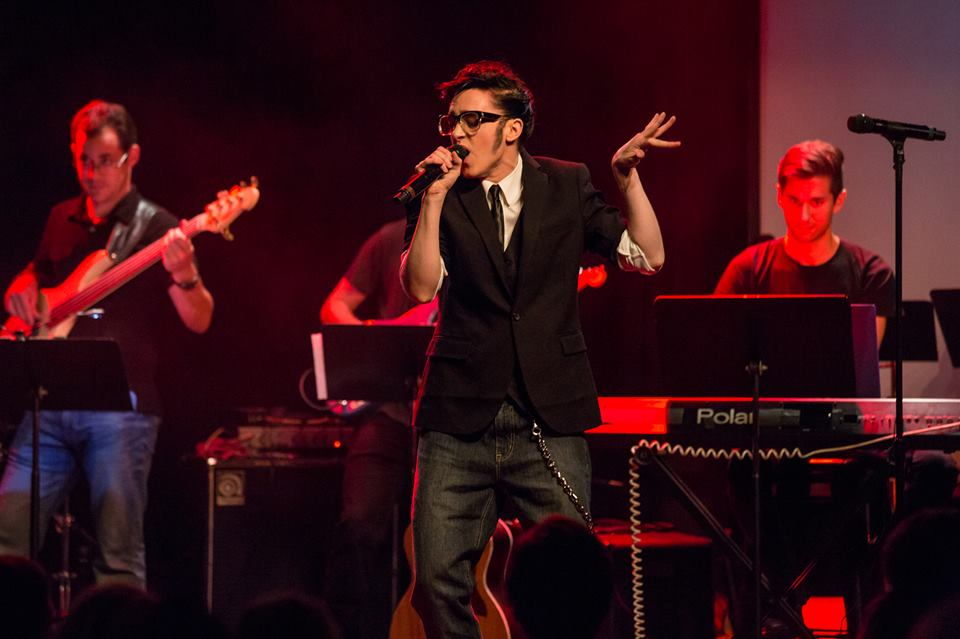 Lena Hall in Broadway Sings Justin Timberlake, Le Poisson Rouge, NYC