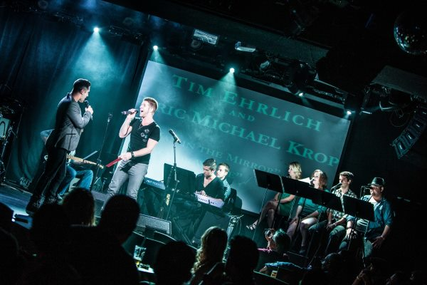 Tim Ehrlich & Eric Michael Krop in Broadway Sings Michael Jackson, Le Poisson Rouge, NYC