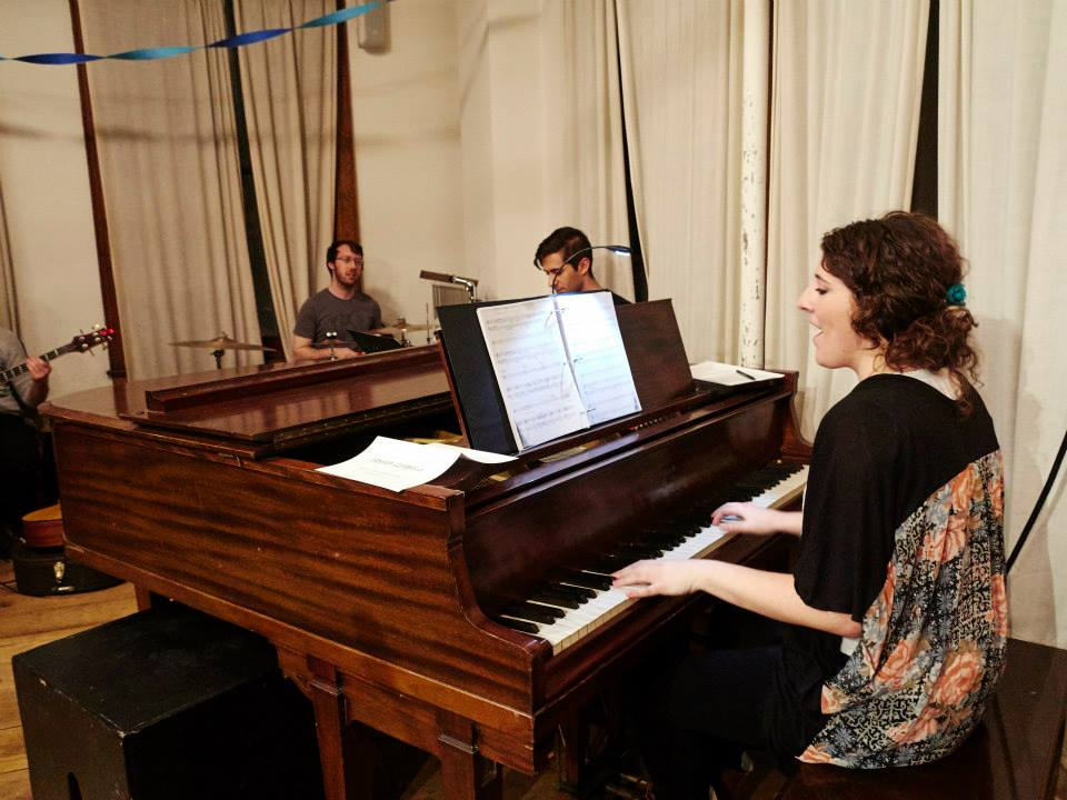 """Pit for """"Underground"""" a new Ben Folds musical by Rachel Whorton, NYC"""
