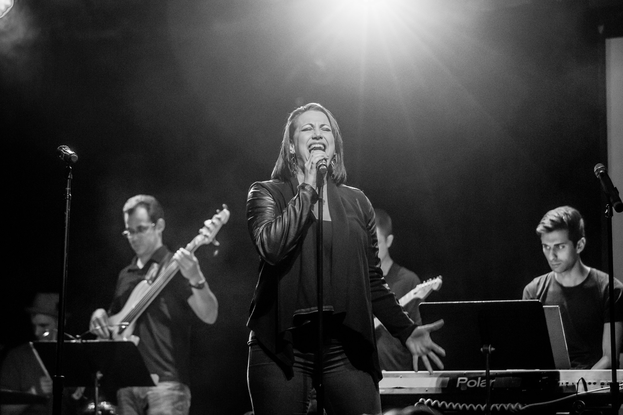 Natali Weiss at Broadway Sings Justin Timberlake, Le Poisson Rouge, NYC