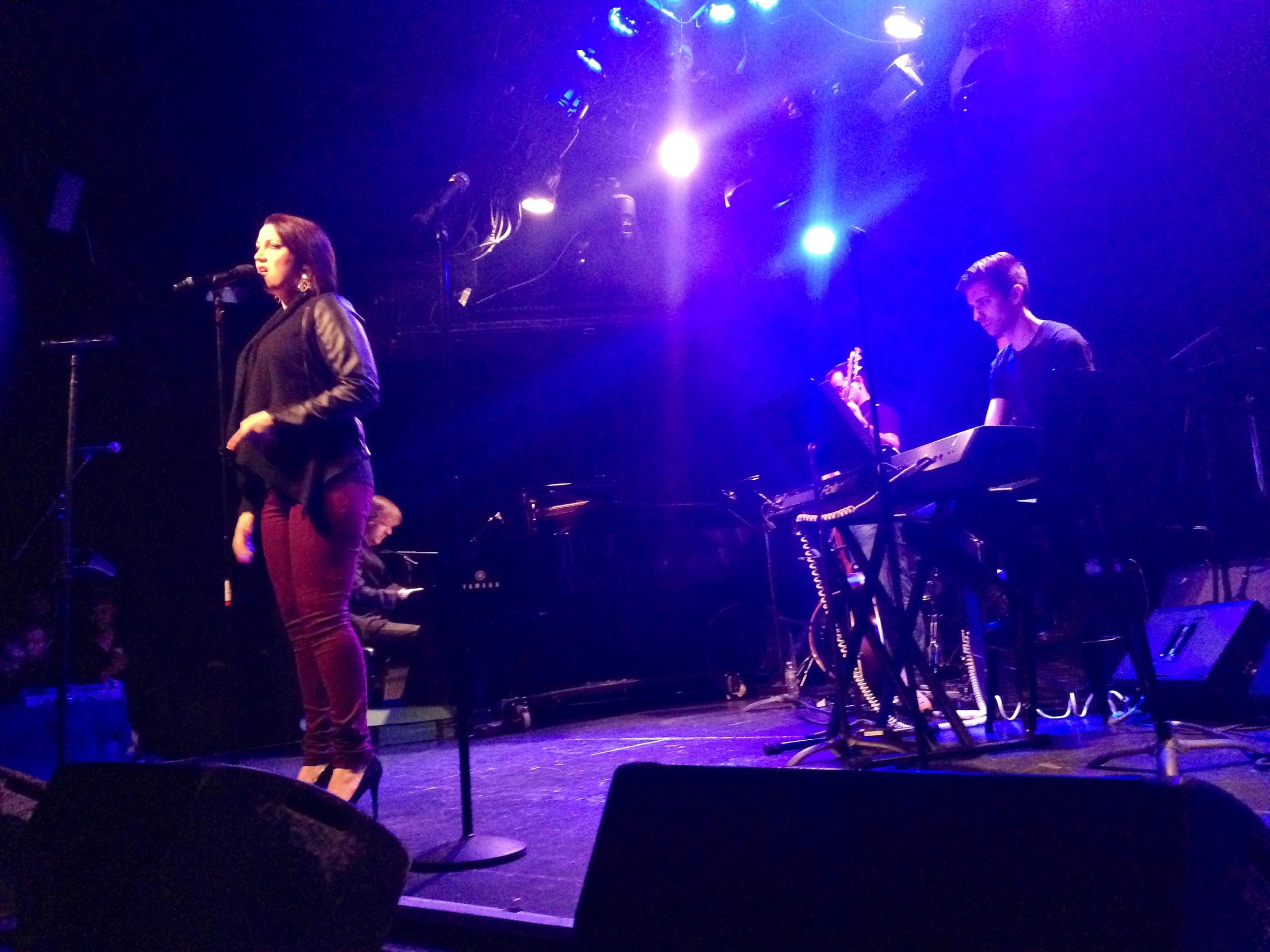 Natali Weis: Broadway Sings Justin Timberlake at Le Poisson Rouge, NYC