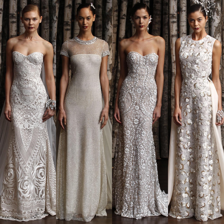 Naeem Khan Little White Dress Bridal Shop Denver Colorado