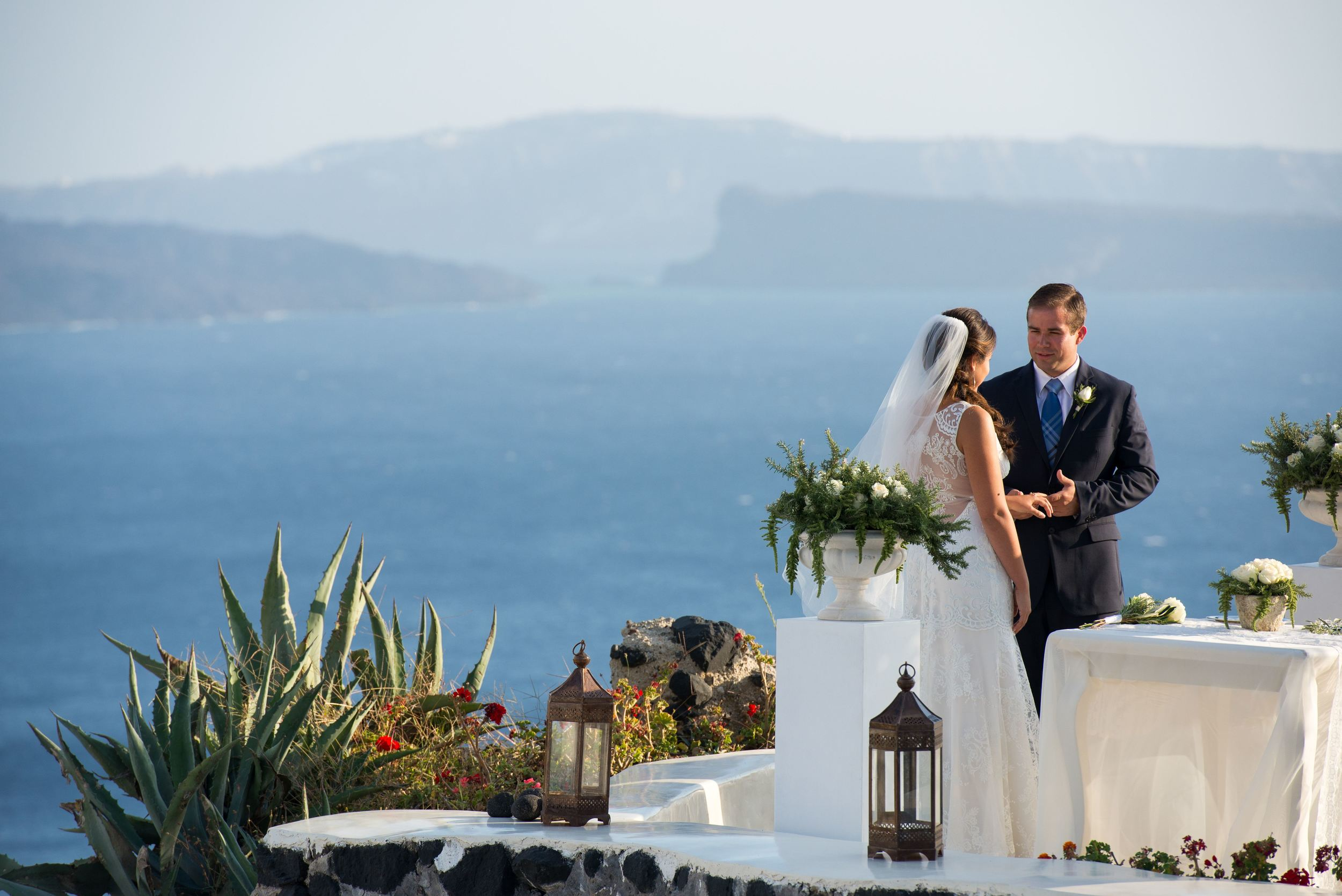 Courtney | September 27, 2014 | Santorini, Greece |  Ben Wyatt Photography