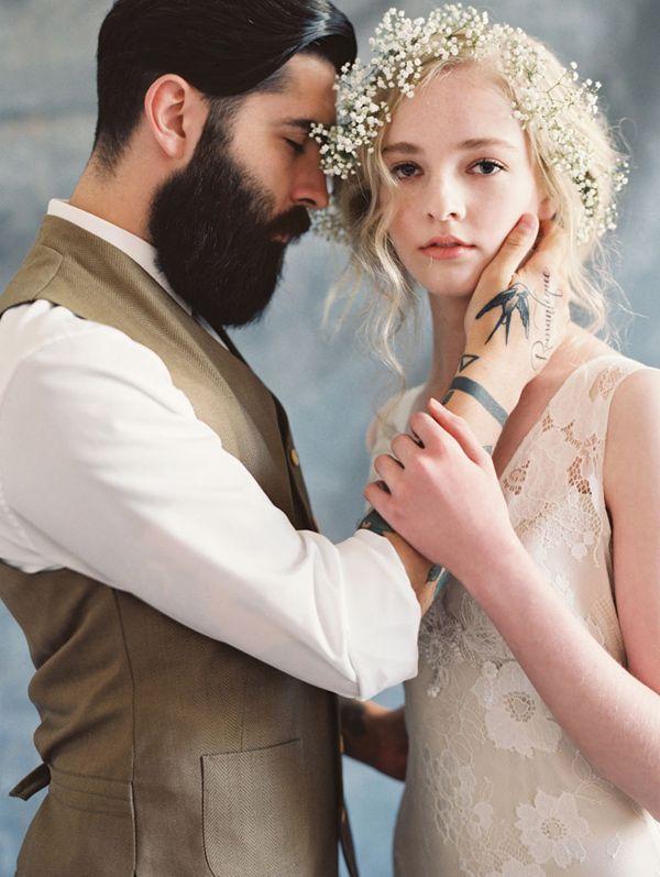 Claire Pettibone Romantique - Gardenia wedding dress