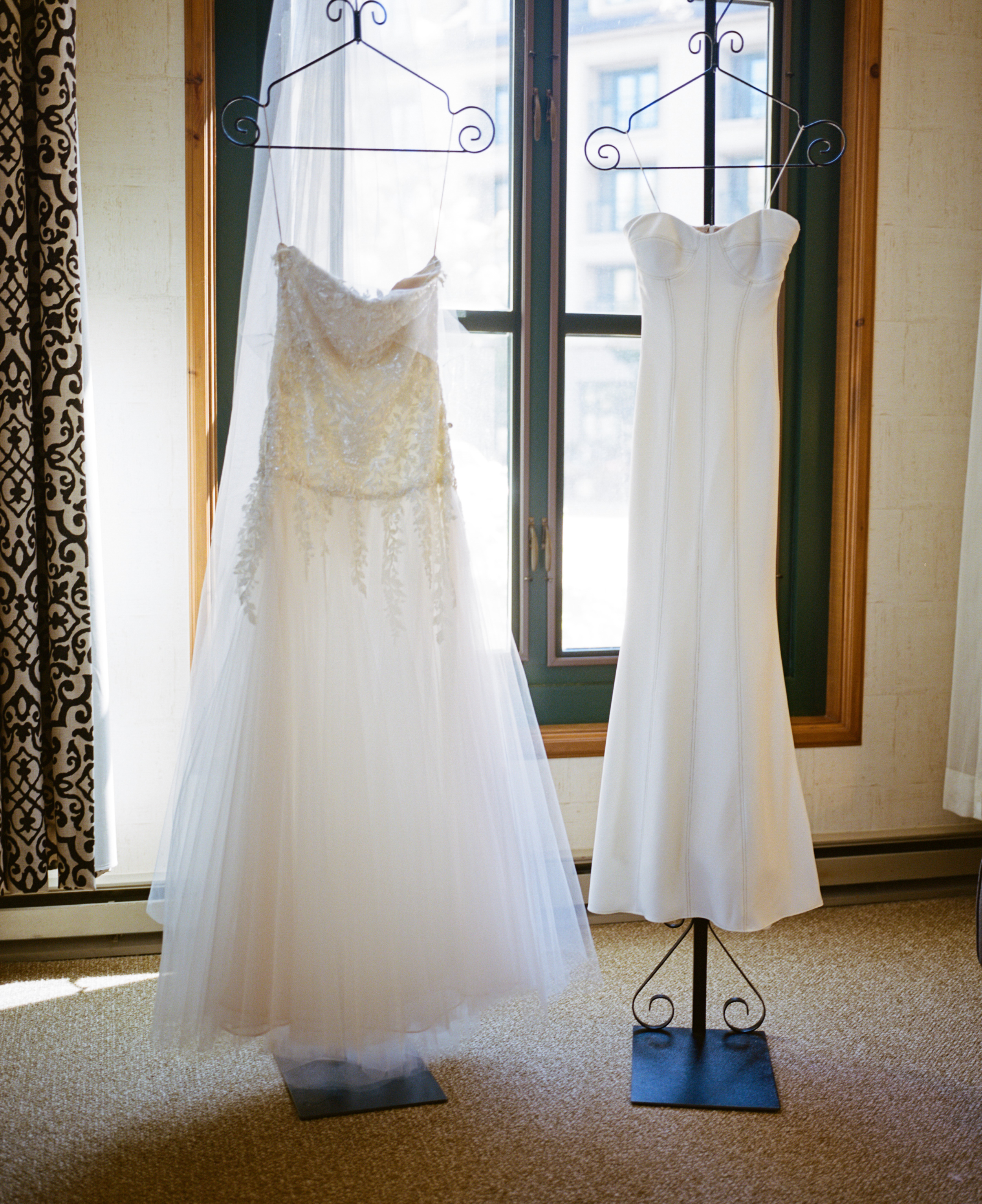 Kelly + Josh   Fall wedding at the Park Hyatt Beaver Creek   Dresses by Reem Acra and Rivini from Little White Dress   Ash Imagery
