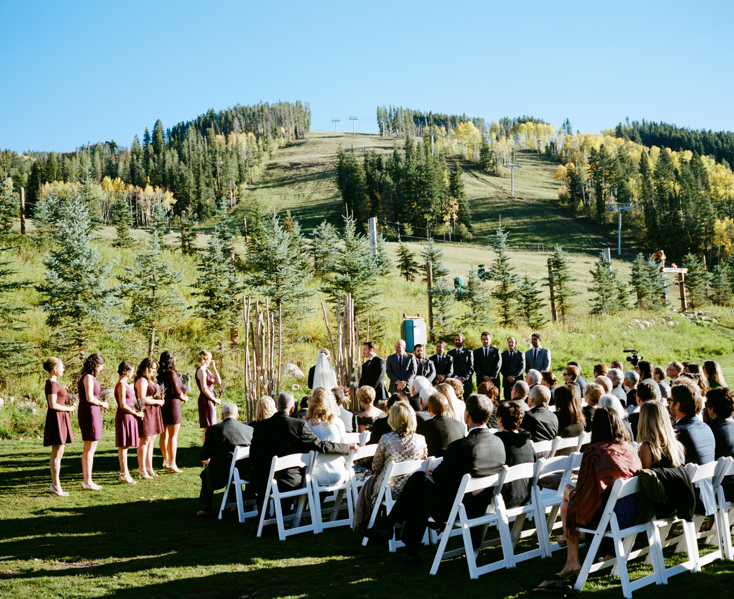 Kelly + Josh   Fall wedding at the Park Hyatt Beaver Creek   Ash Imagery