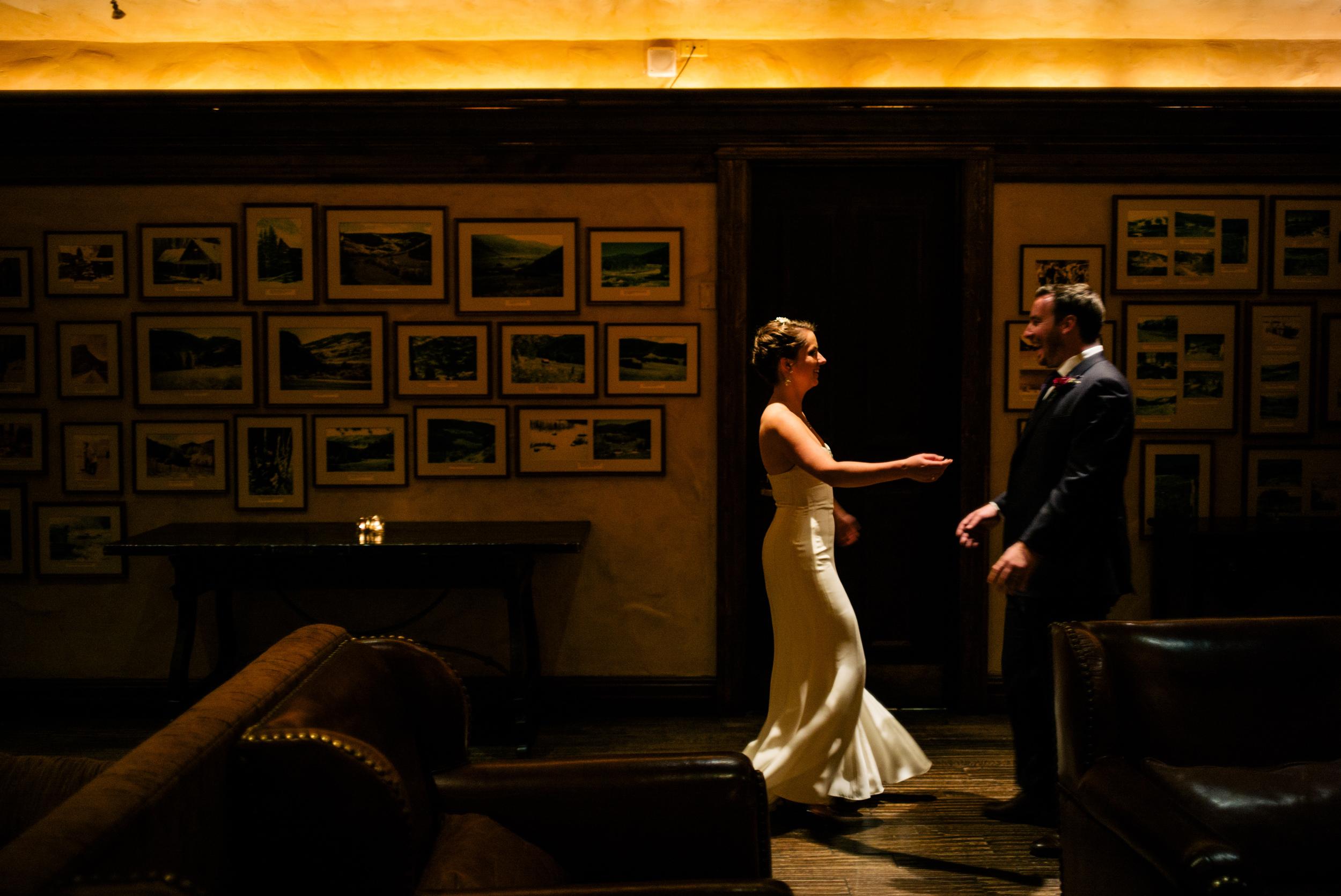Kelly + Josh   Fall wedding at the Park Hyatt Beaver Creek   Dress by Rivini from Little White Dress   Ash Imagery