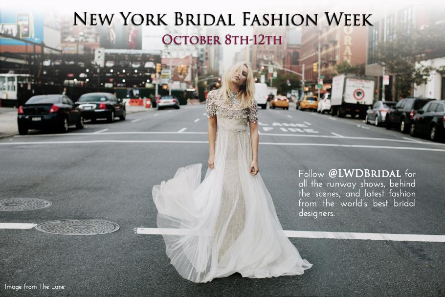 Little White Dress New York Bridal Fashion Week
