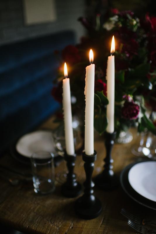 Halloween wedding inspiration |photo by Andy Barnhart