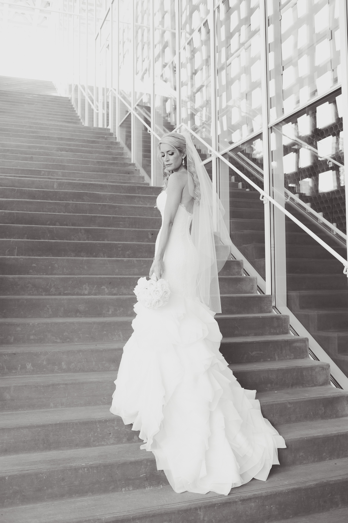 Aspen Art Museum Wedding | Wedding Dress from Little White Dress in Denver | Amy Bluestar Photography