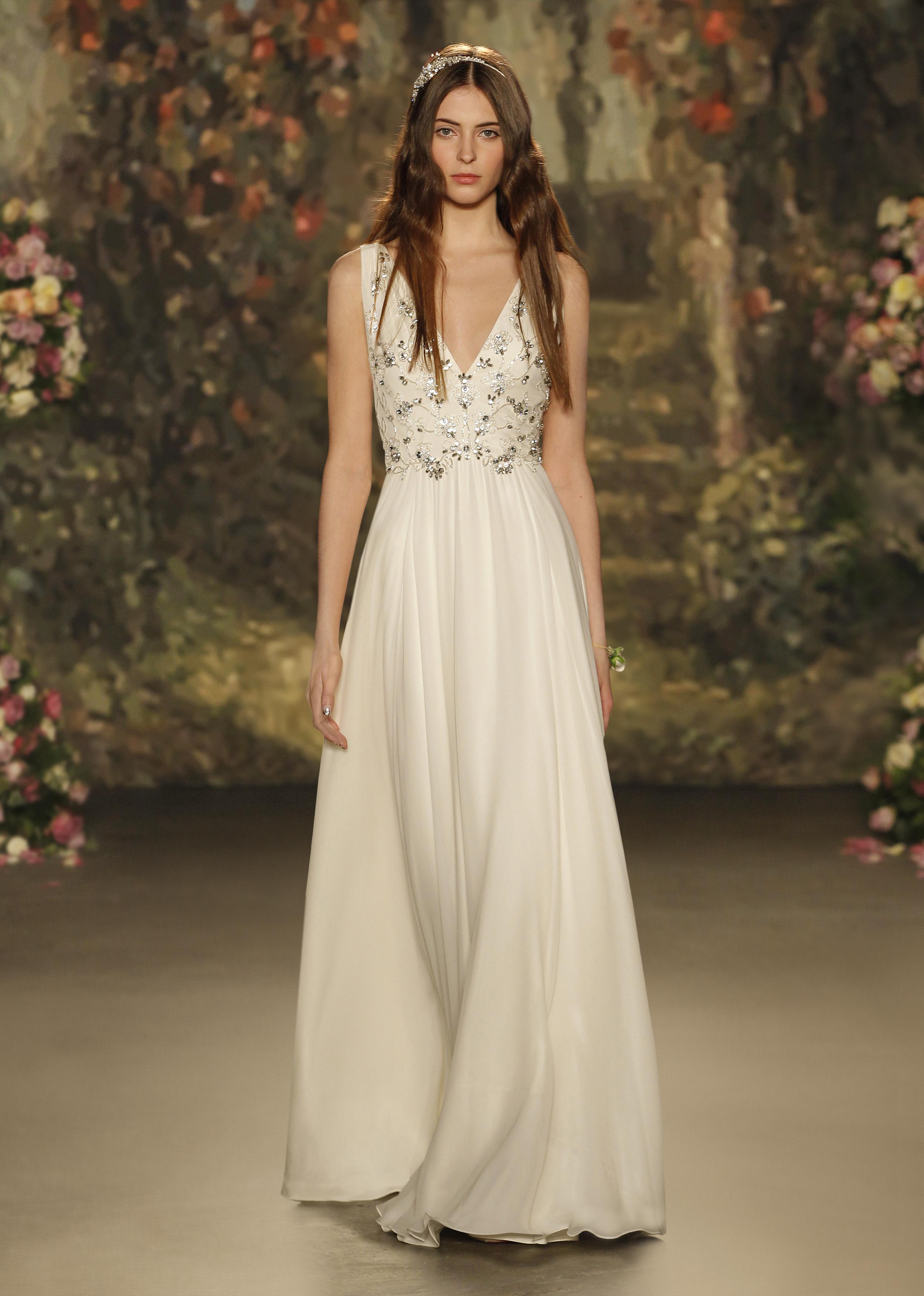 Jenny Packham wedding gown at Little White Dress Bridal Shop in Denver, Colorado