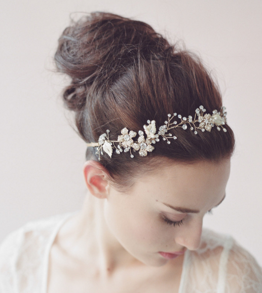 Spring 2016 | Twigs & Honey headpiece |available at Little White Dress in Denver