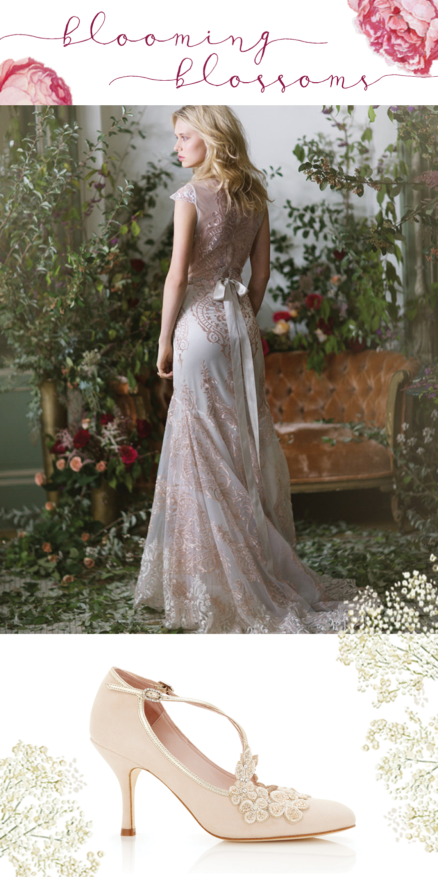 Spring 2016 | Caire Pettibone Vanderbilt | Emmy London Blossom |available at Little White Dress in Denver