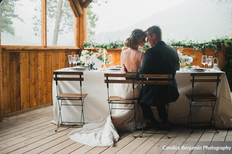 Luxurious Mountain Shoot at Piney River Ranch | Gaila Lahav available at Little White Dress Bridal Shop in Denver | Candice Benjamin Photography