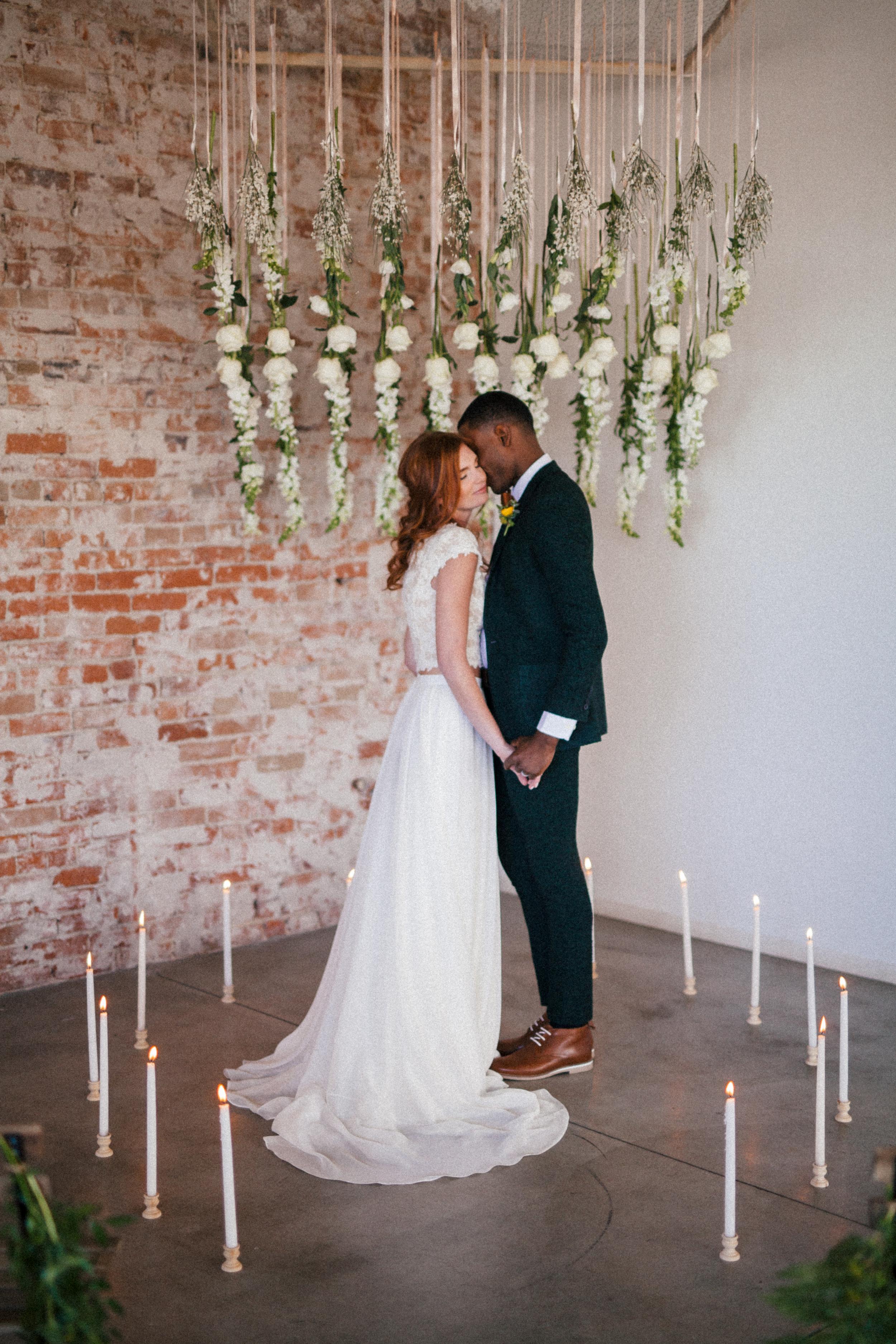 Irish inspired shoot | Sassi Holford top + Charlie Brear skirt from Little White Dress Bridal Shop in Denver | Cassie Rosch Photography