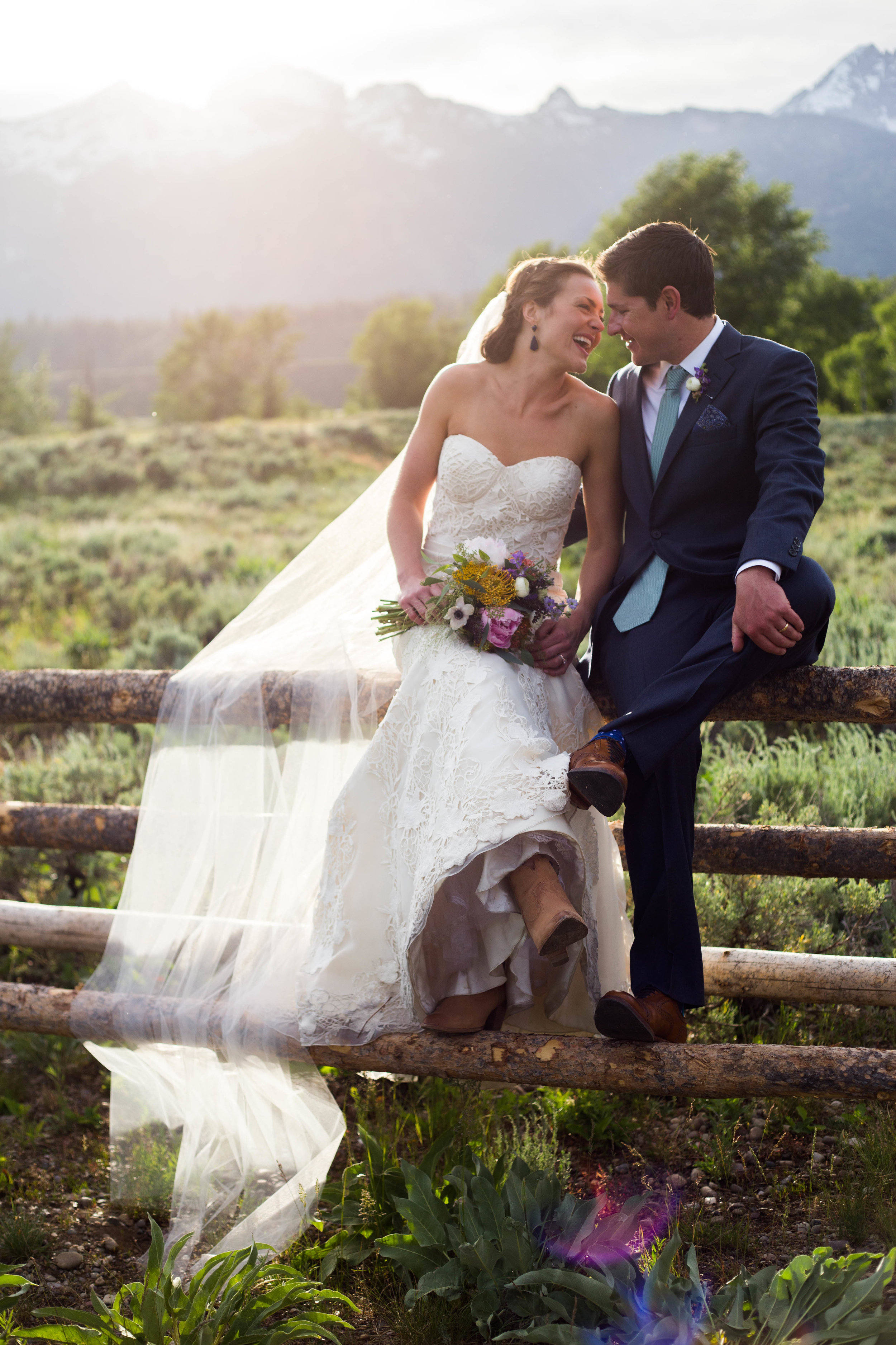 "Kendall + Patrick | Robert Bullock Bride ""Alessia"" from Little White Dress Bridal Shop in Denver 