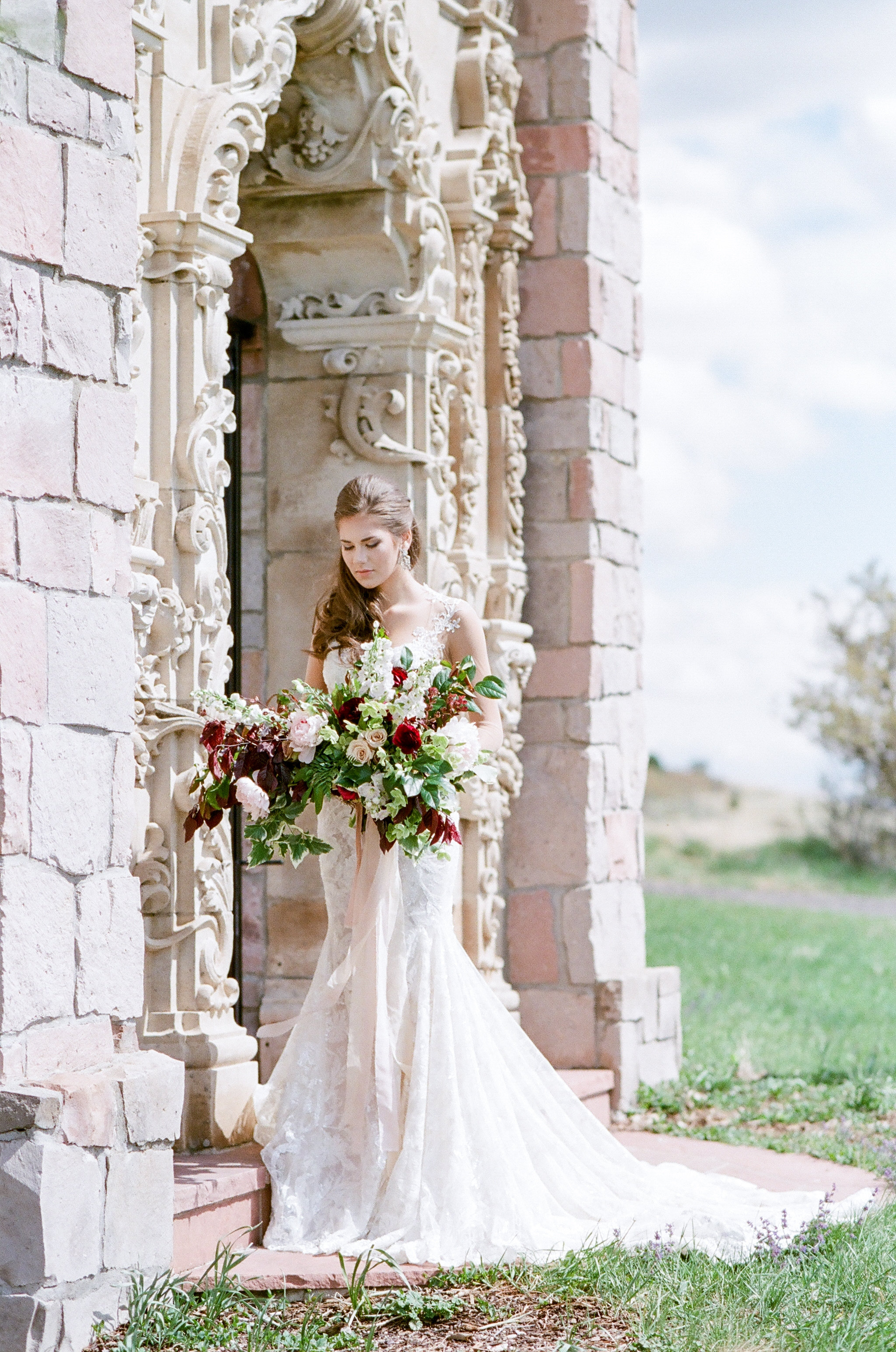 "Cherokee Castle shoot | Galia Lahav ""Gwen"" 