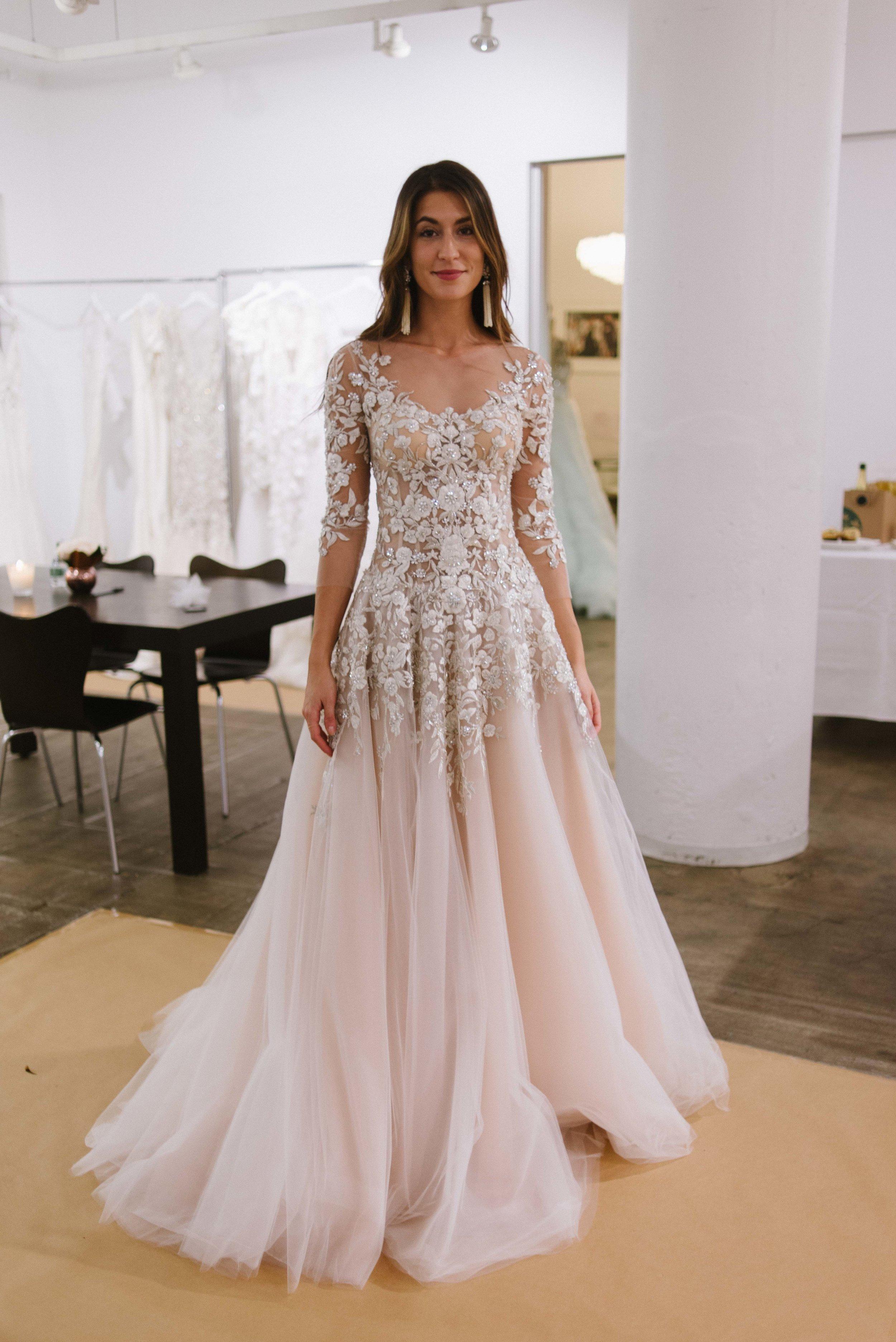 New York Bridal Fashion Week 2016 | Marchesa | Little White Dress Bridal Shop in Denver