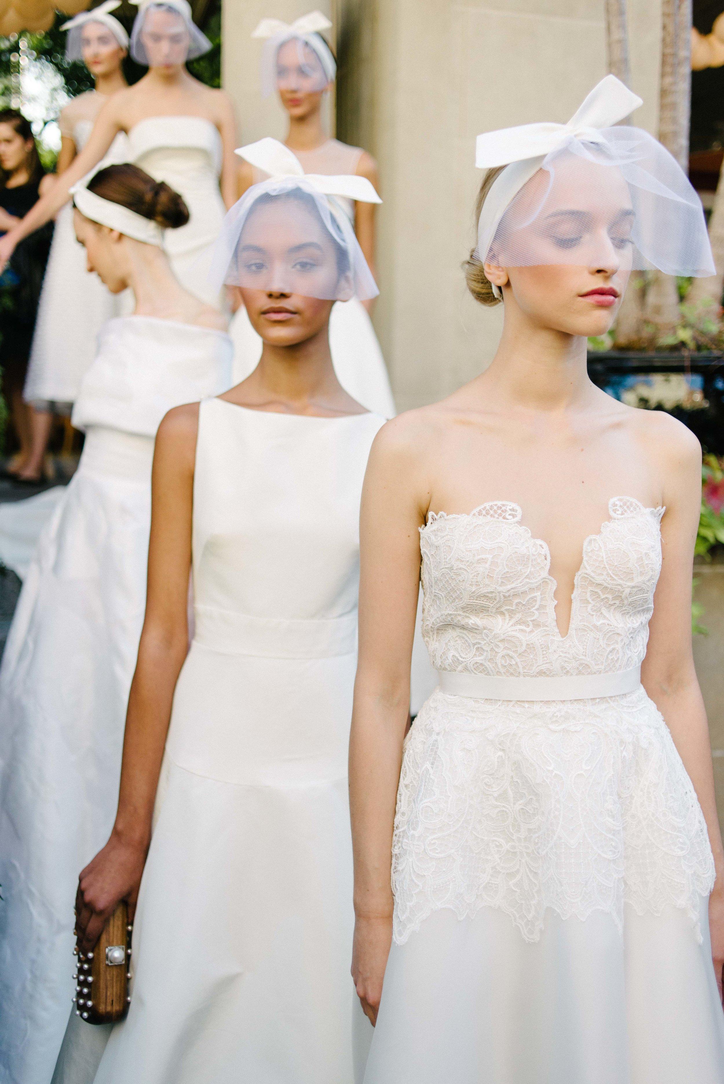 Lela Rose Bridal Fall 2017 Little White Dress Denver