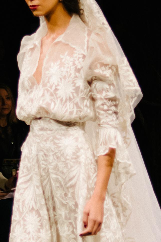 New York Bridal Fashion Week 2016 | Naeem Khan | available at Little White Dress Bridal Shop in Denver