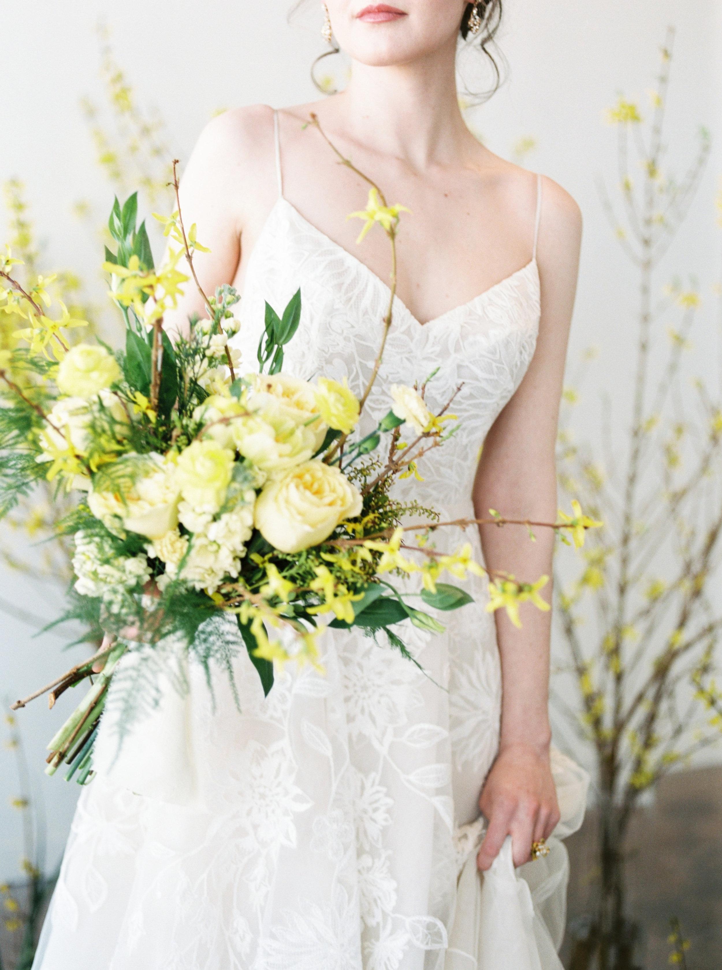 "Lela Rose ""The Altar"" wedding dress | Spring Bridal Inspiration from Little White Dress Bridal Shop in Denver, Colorado | Decorus Photography"