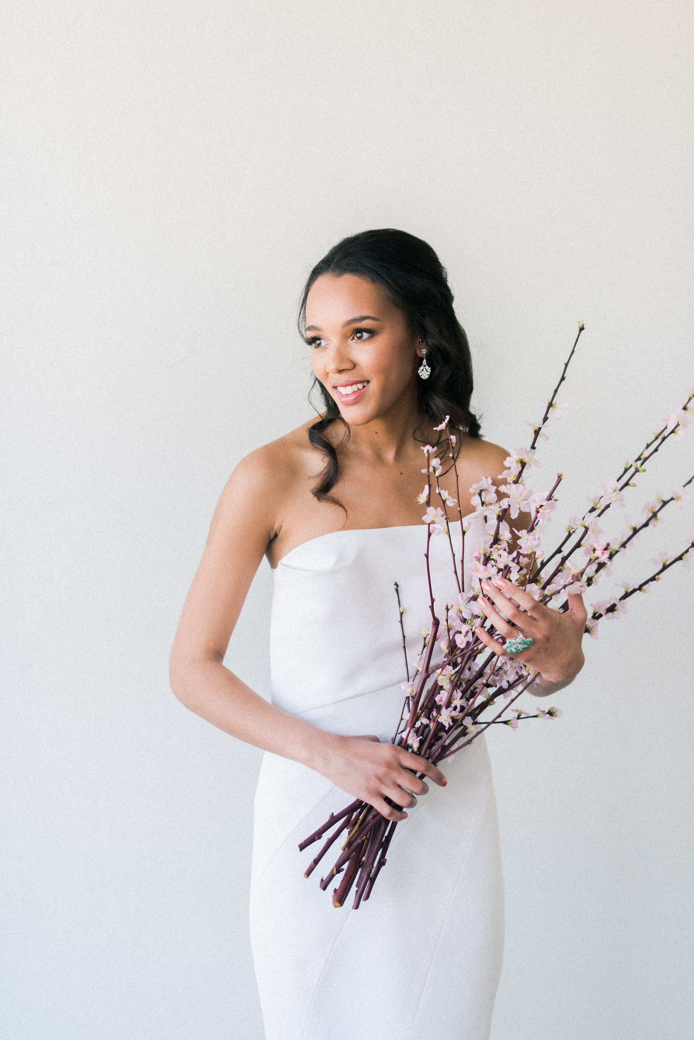 "J. Mendel ""Madeleine""wedding dress | Spring Bridal Inspiration from Little White Dress Bridal Shop in Denver, Colorado | Decorus Photography"