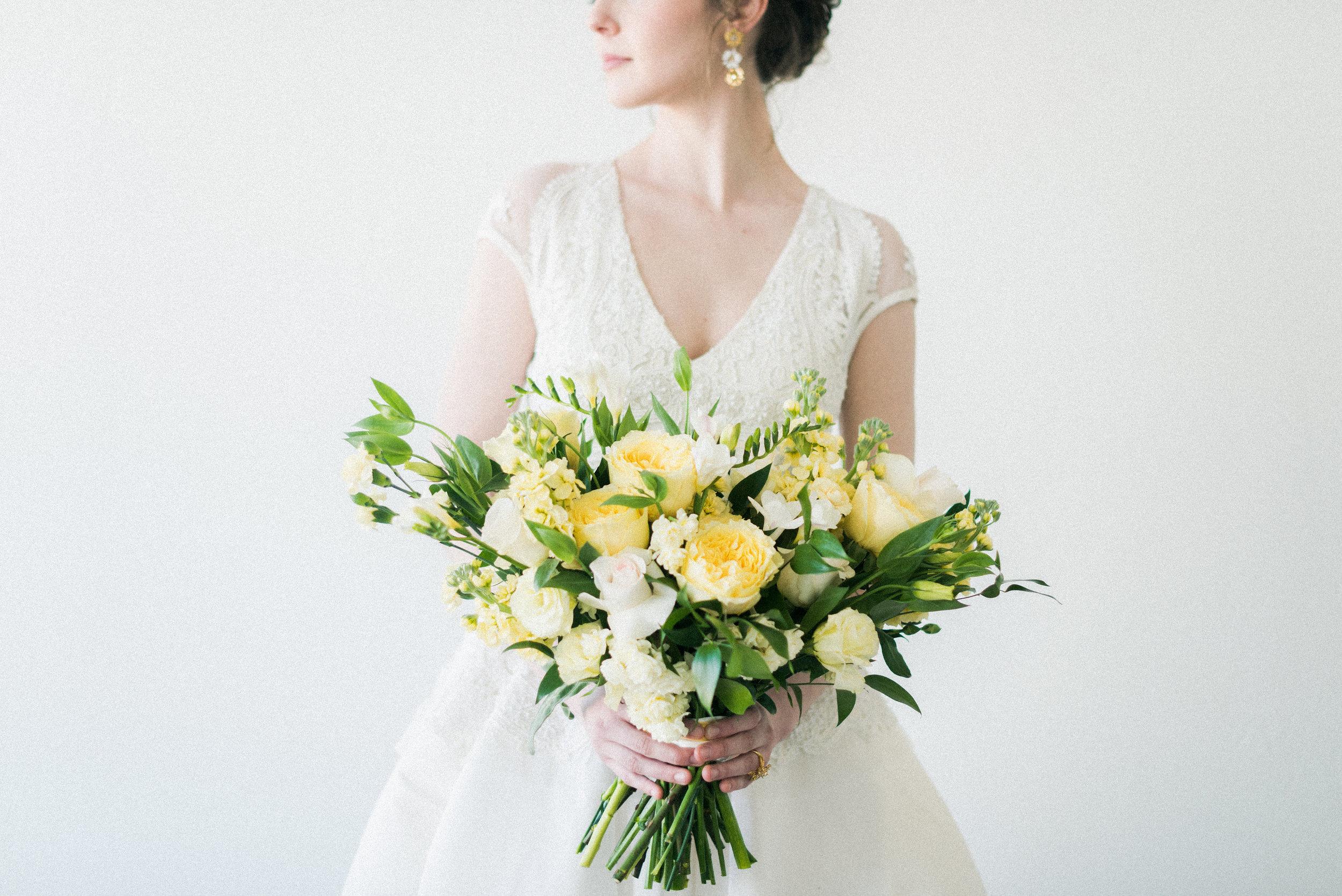 "Naeem Khan ""Marseille"" wedding dress | Spring Bridal Inspiration from Little White Dress Bridal Shop in Denver, Colorado | Decorus Photography"