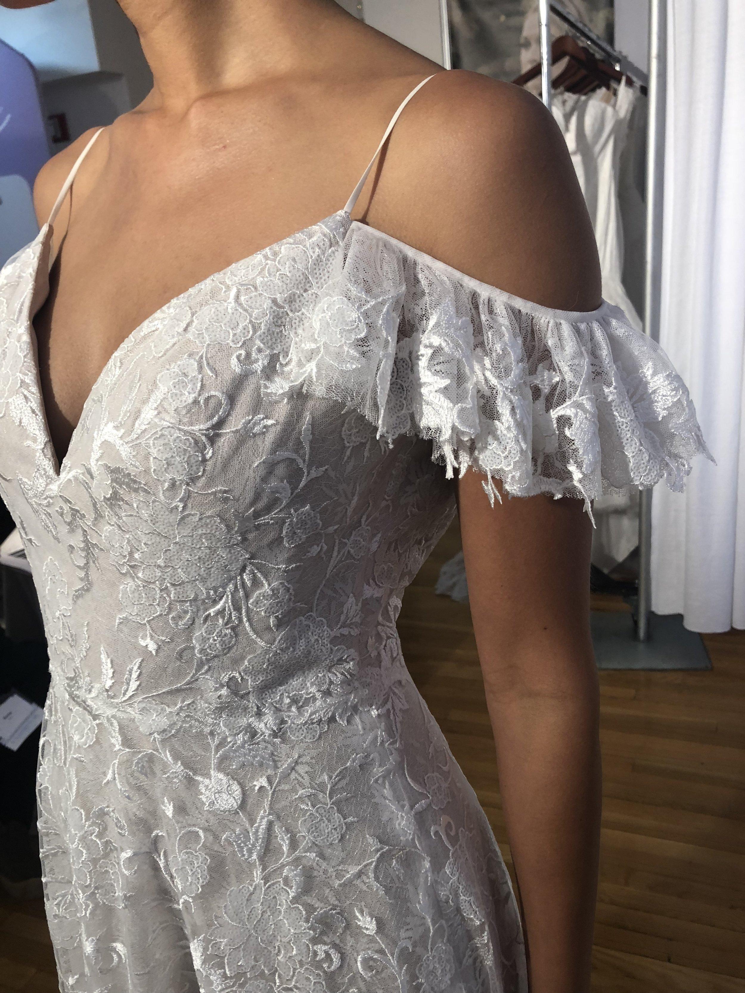 Bridal Fashion Week Trends 2019, New York Bridal Fashion Week, Bridal Market, Off The Shoulder