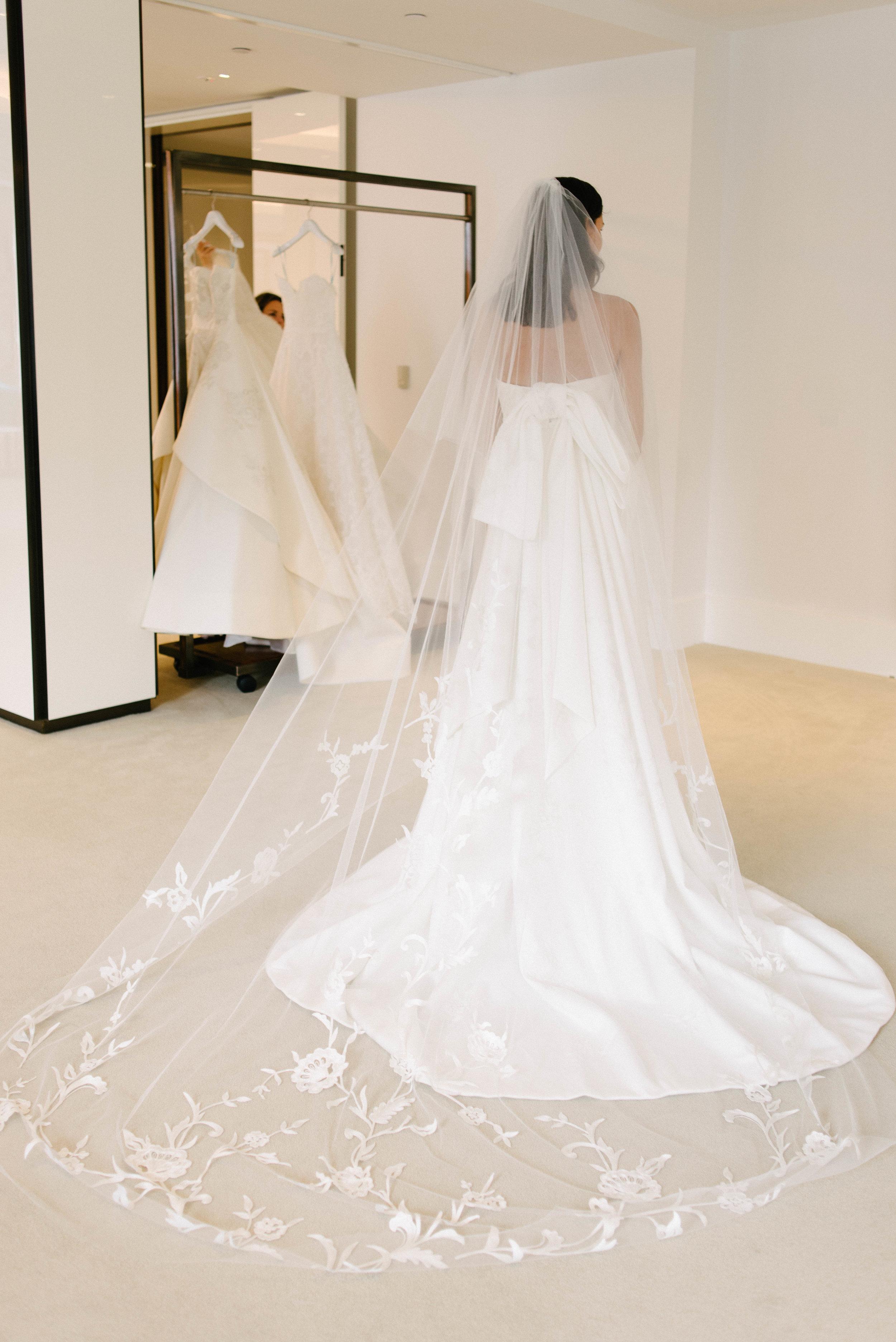 Bridal Fashion Week Trends 2019, New York Bridal Fashion Week, Bridal Market, Statement Veils