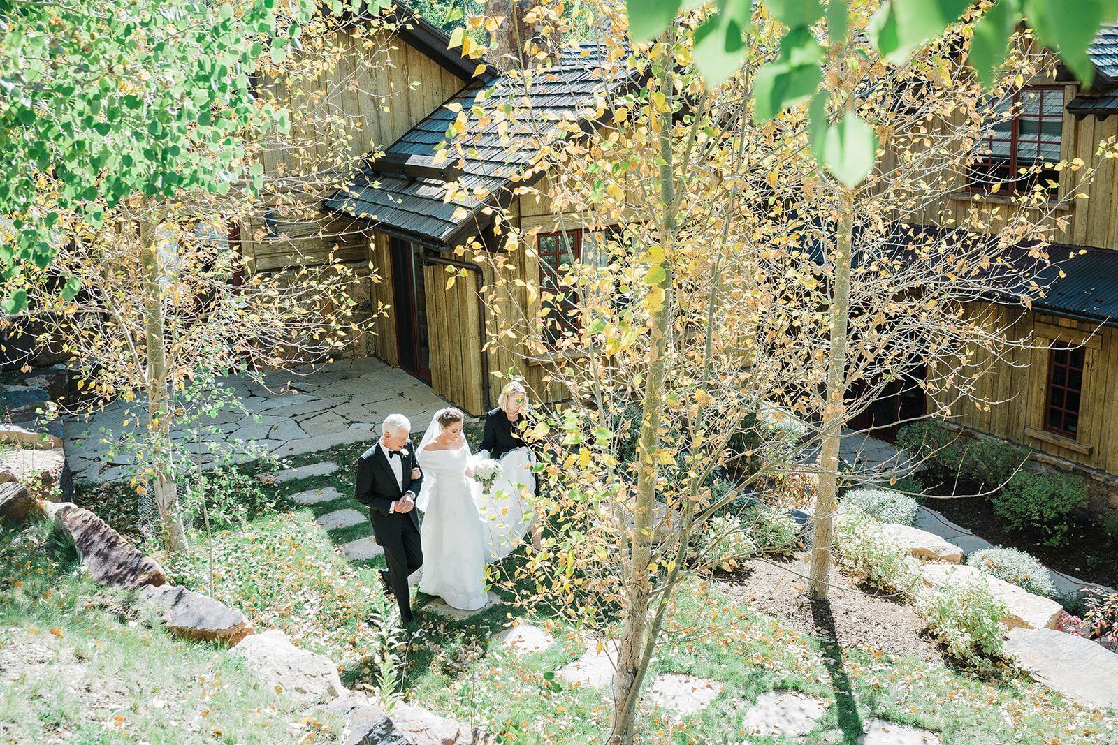 The Cape Lela Rose, Lela Rose, Little White Dress Denver CO, Vail Wedding Dress, The 10th Wedding Vail, Edwards CO wedding