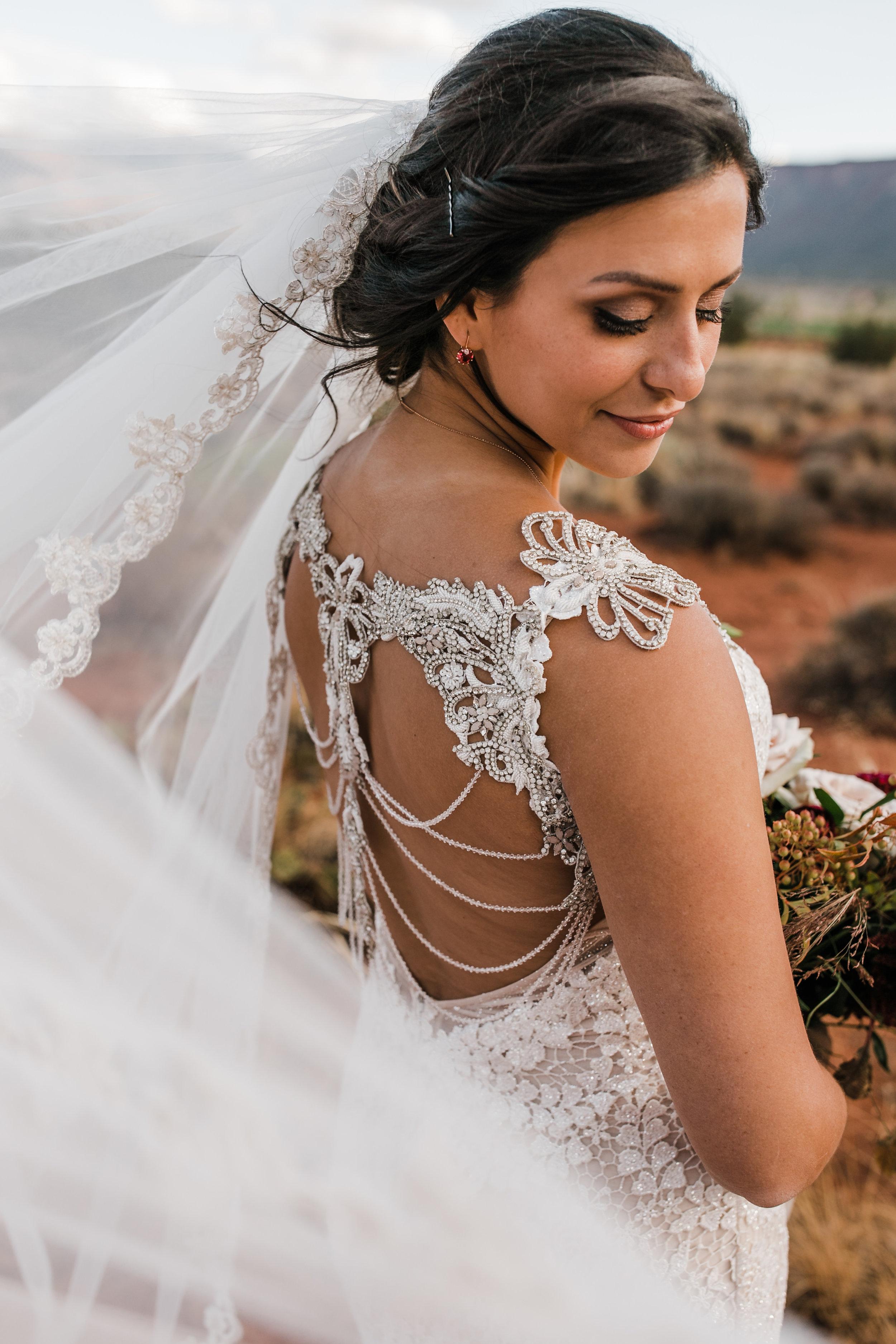 Galia Lahav Rayne, Galia Lahav Real Bride, Moab UT Wedding, Little White Dress Bridal Shop, Denver Bridal Shop