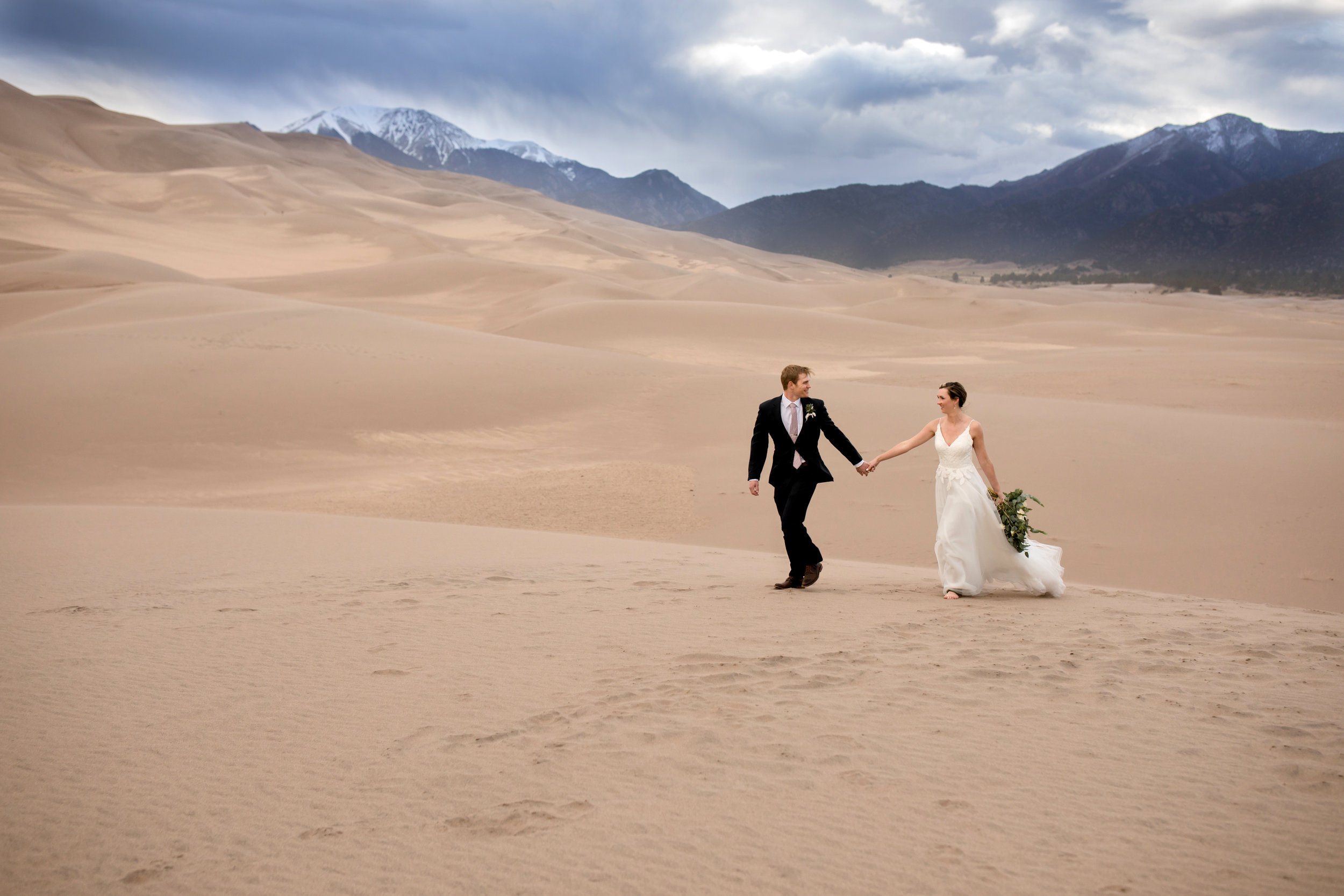 Brittany | Great Sand Dunes Colorado |  Plum Pretty Photo